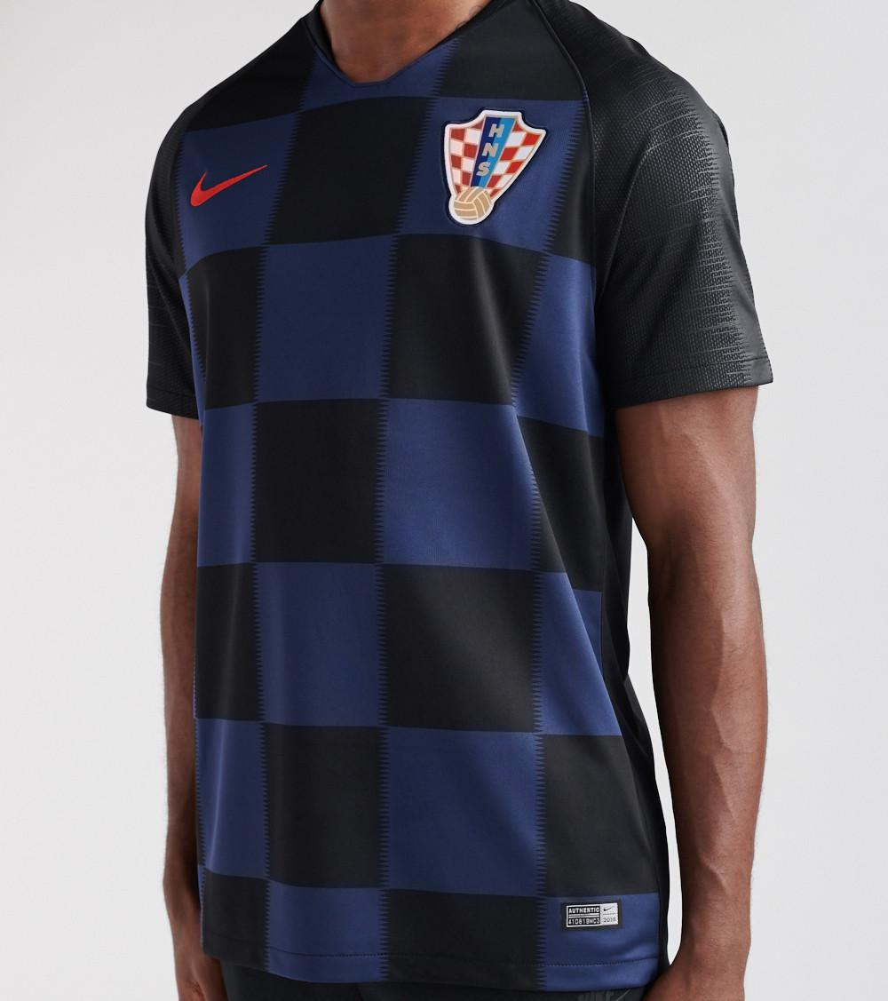 Nike Croatia 2018 Away Ss Jersey in Blue for Men - Lyst 45d307704