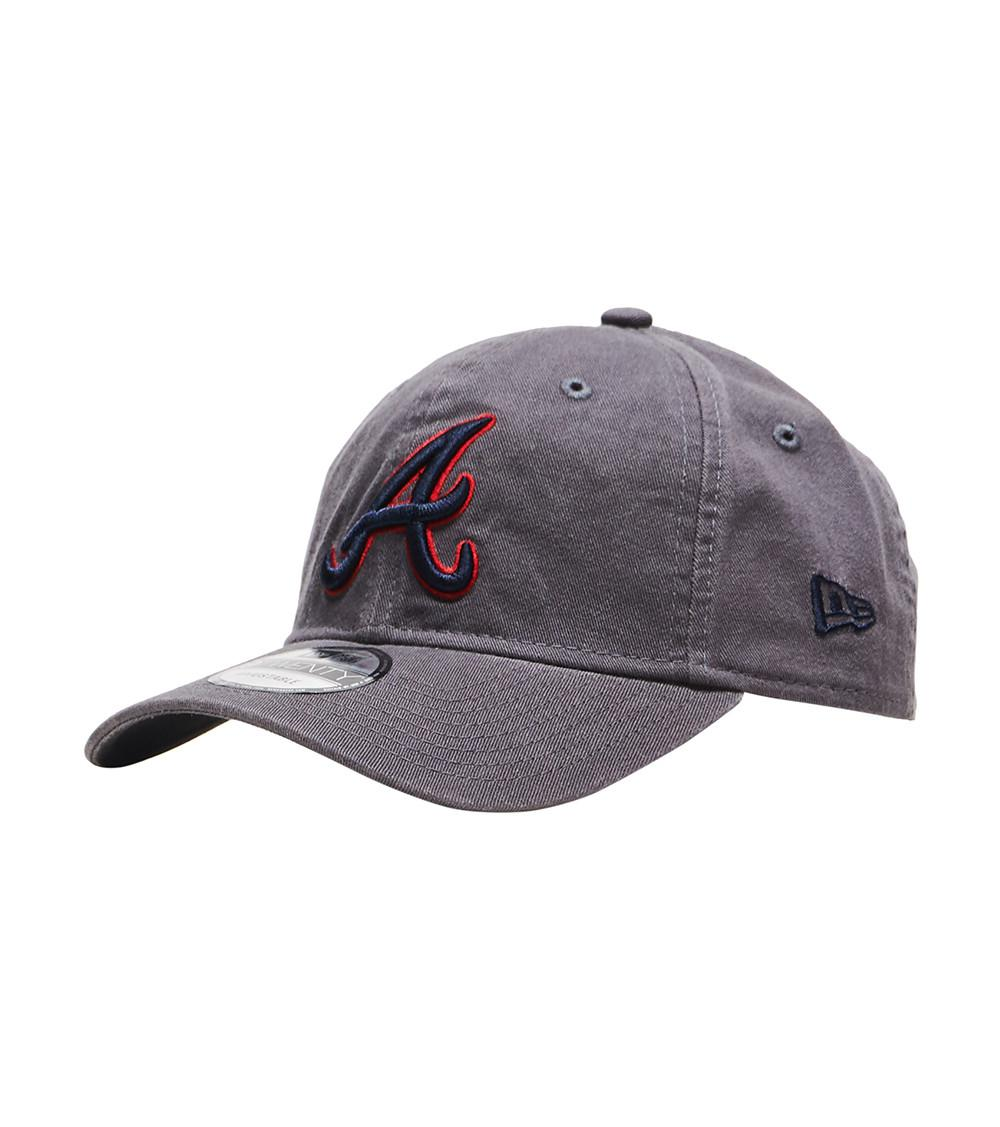 Lyst - Ktz Atlanta Braves 9twenty Hat in Gray for Men 9459821326d1