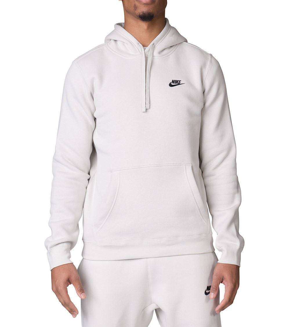 4993180e1f Nike - Natural Club Swoosh Pullover Hoodie for Men - Lyst. View fullscreen