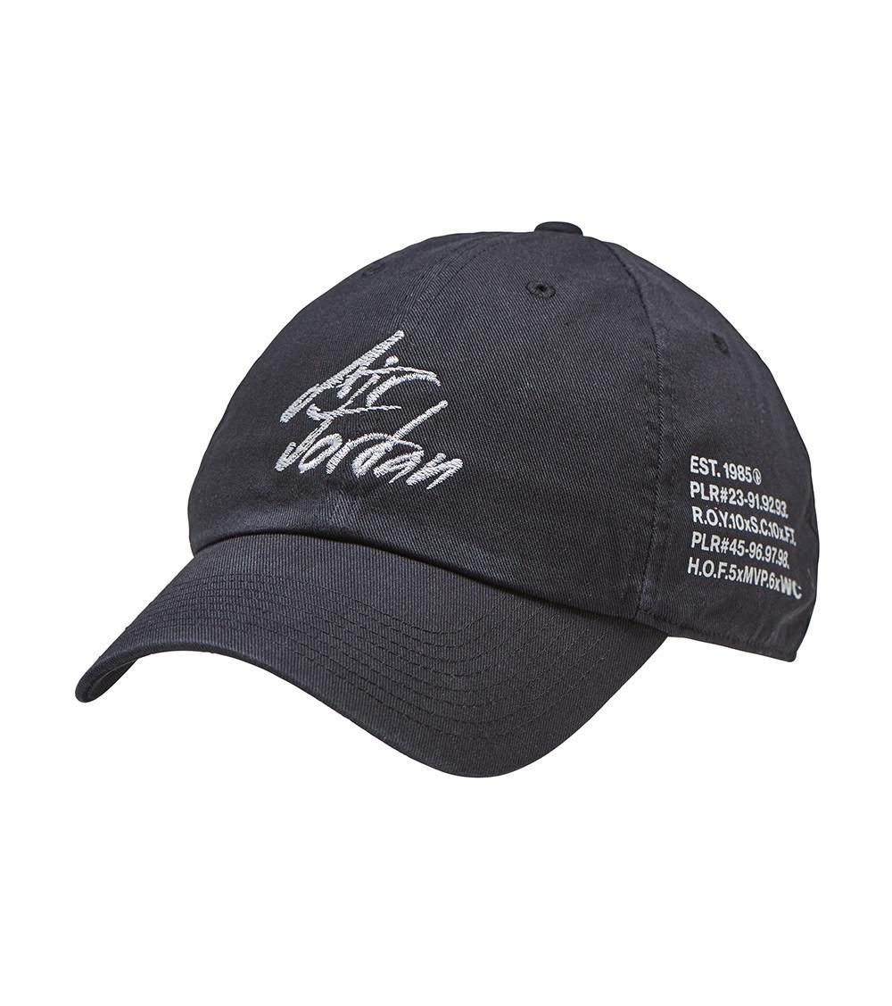 7d4fec04f43 Nike Goat H86 Script Hat in Black for Men - Lyst