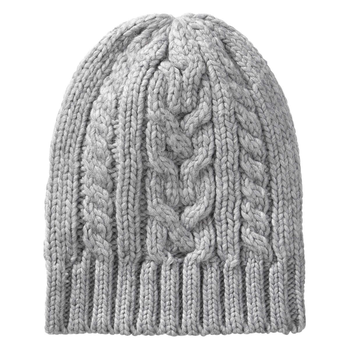889422c683a Lyst - Joe Fresh Men s Cable Knit Hat in Gray for Men
