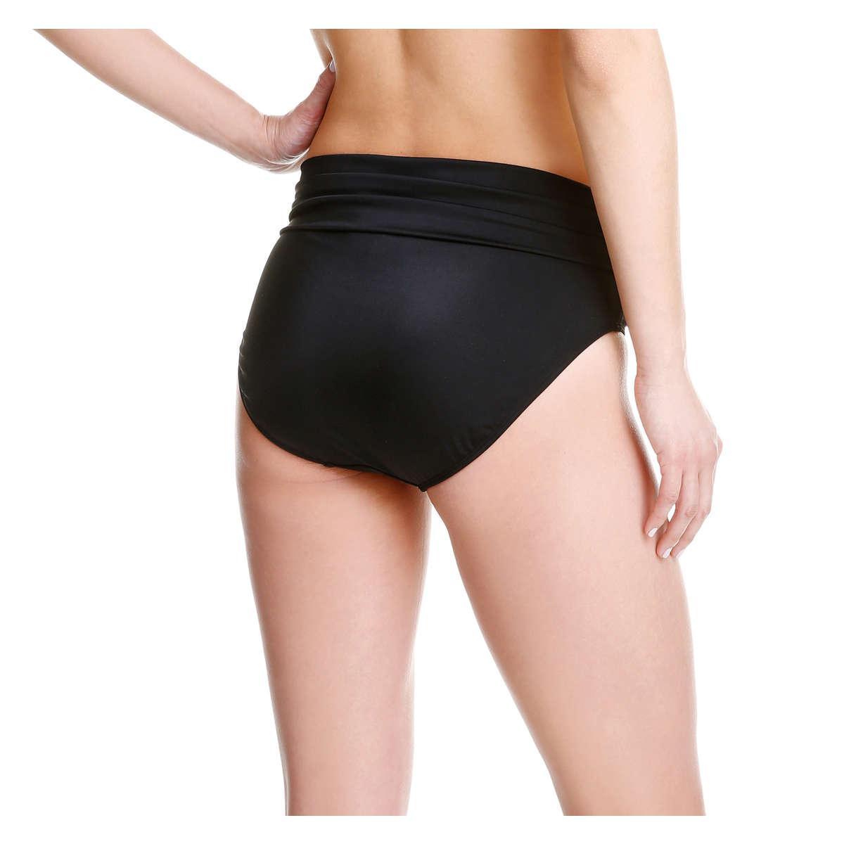 foldover waist bikini bottoms
