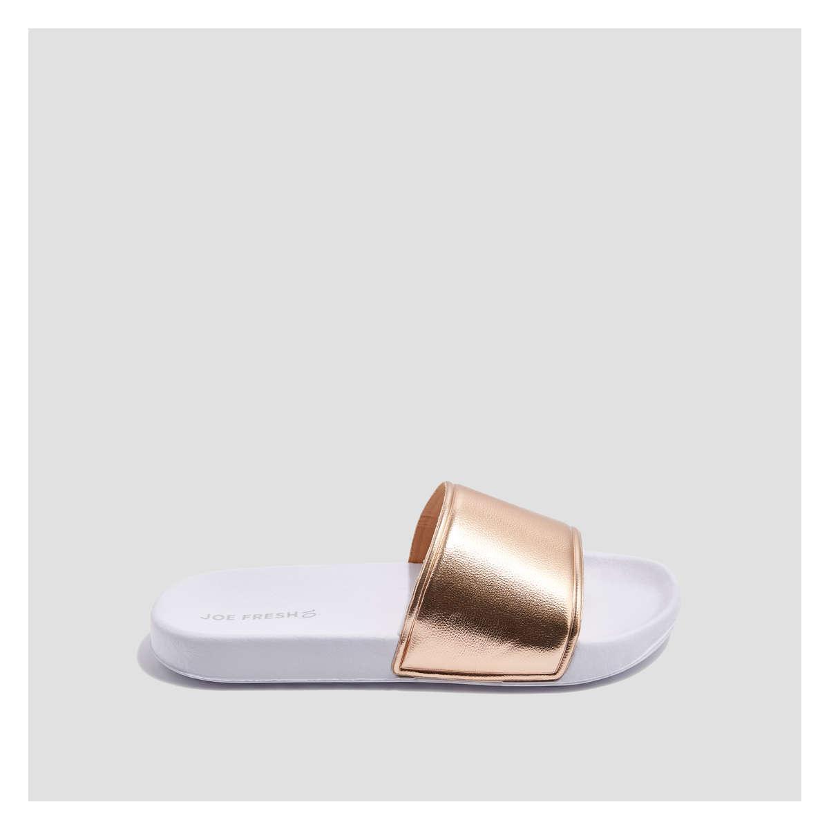 dd7639b3017 Joe Fresh Slides in Pink - Lyst