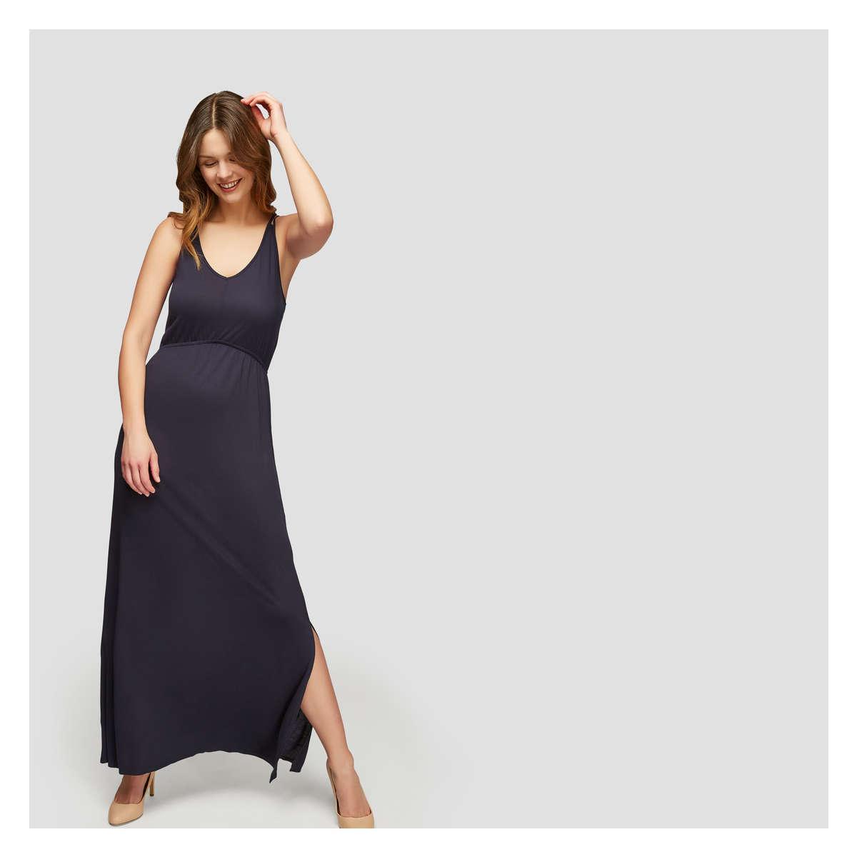 Joe Fresh Double Strap Maxi Dress in Blue - Lyst 78f10f473