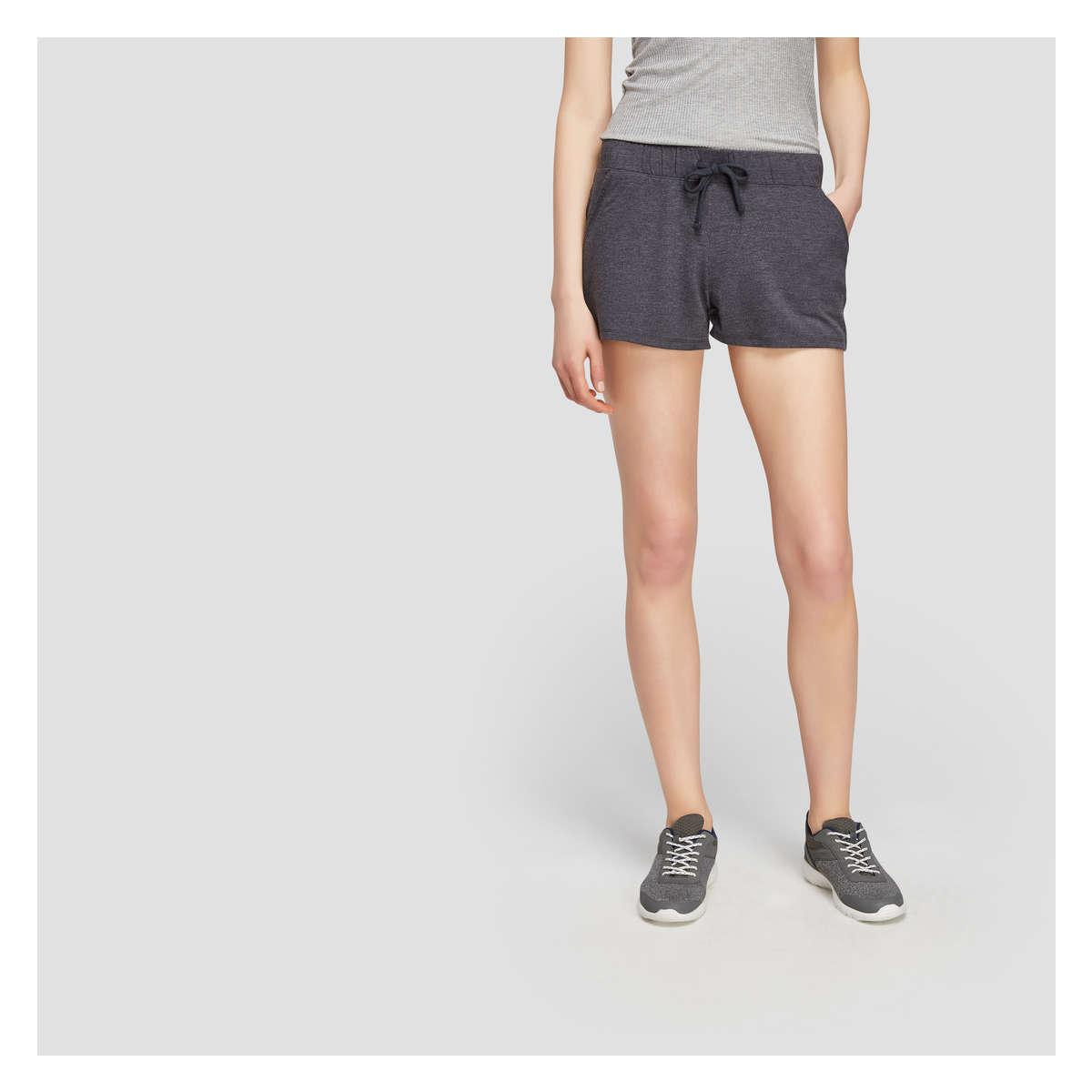 6dc7ed5405 Joe Fresh French Terry Shorts in Gray - Lyst