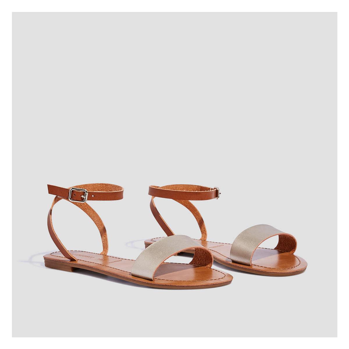 048bcb0e346 Lyst - Joe Fresh Metallic Sandal in Metallic