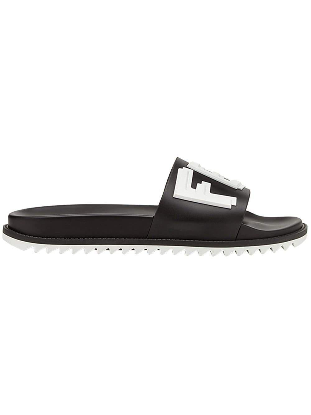 c9ace9e876fb Fendi Sandal in Black for Men - Lyst