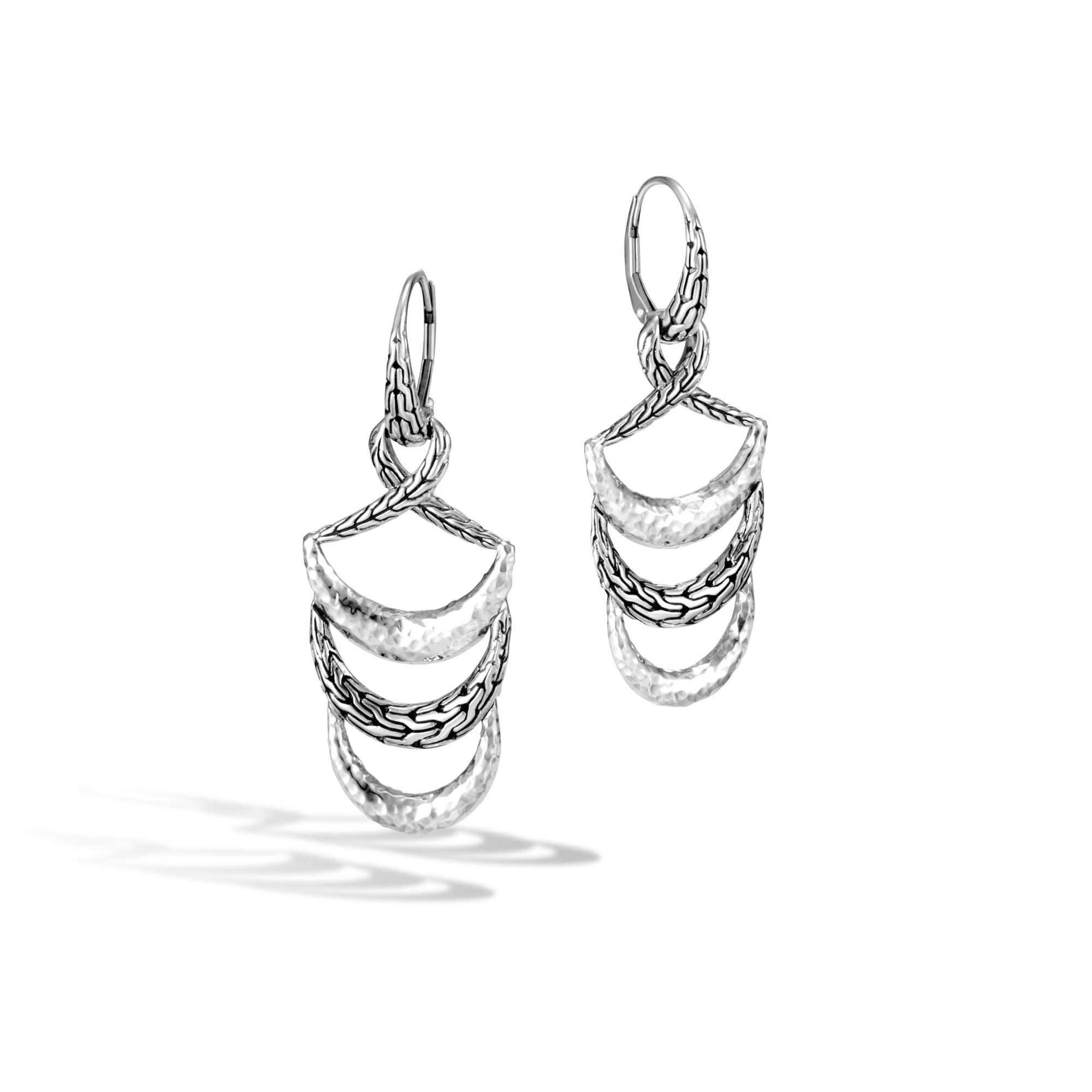 John Hardy Classic Chain Hammered Drop Earrings 22y8s1yp4F