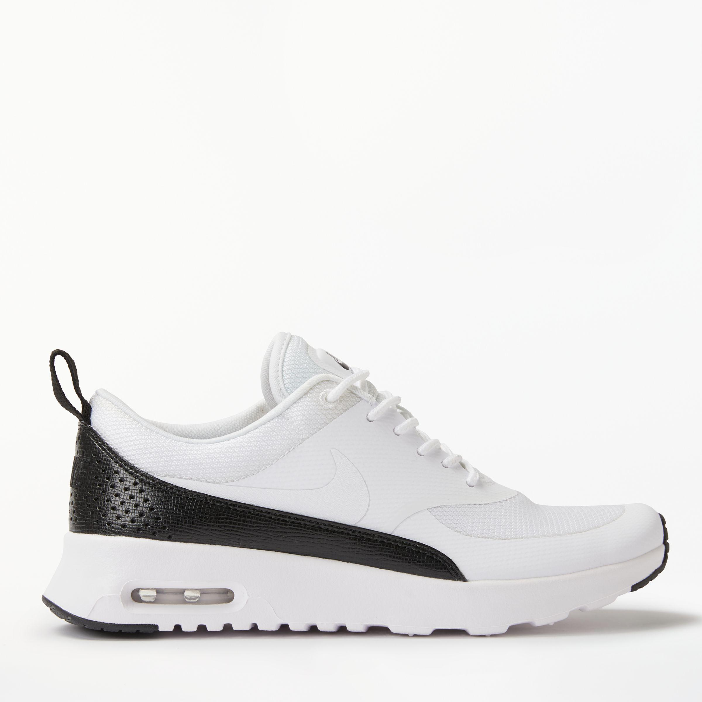 6d5304d8be7d Nike Air Max Thea Women s Trainers in White - Lyst