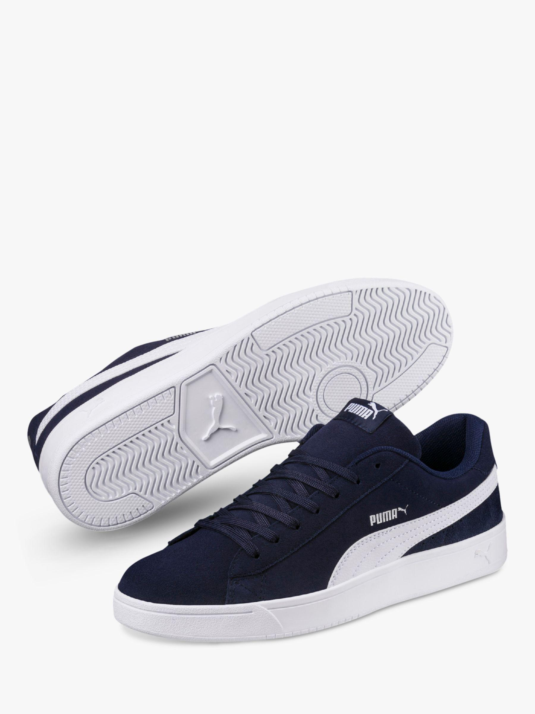 PUMA Court Breaker Derby Men s Trainers in Blue for Men - Lyst bcfb27865