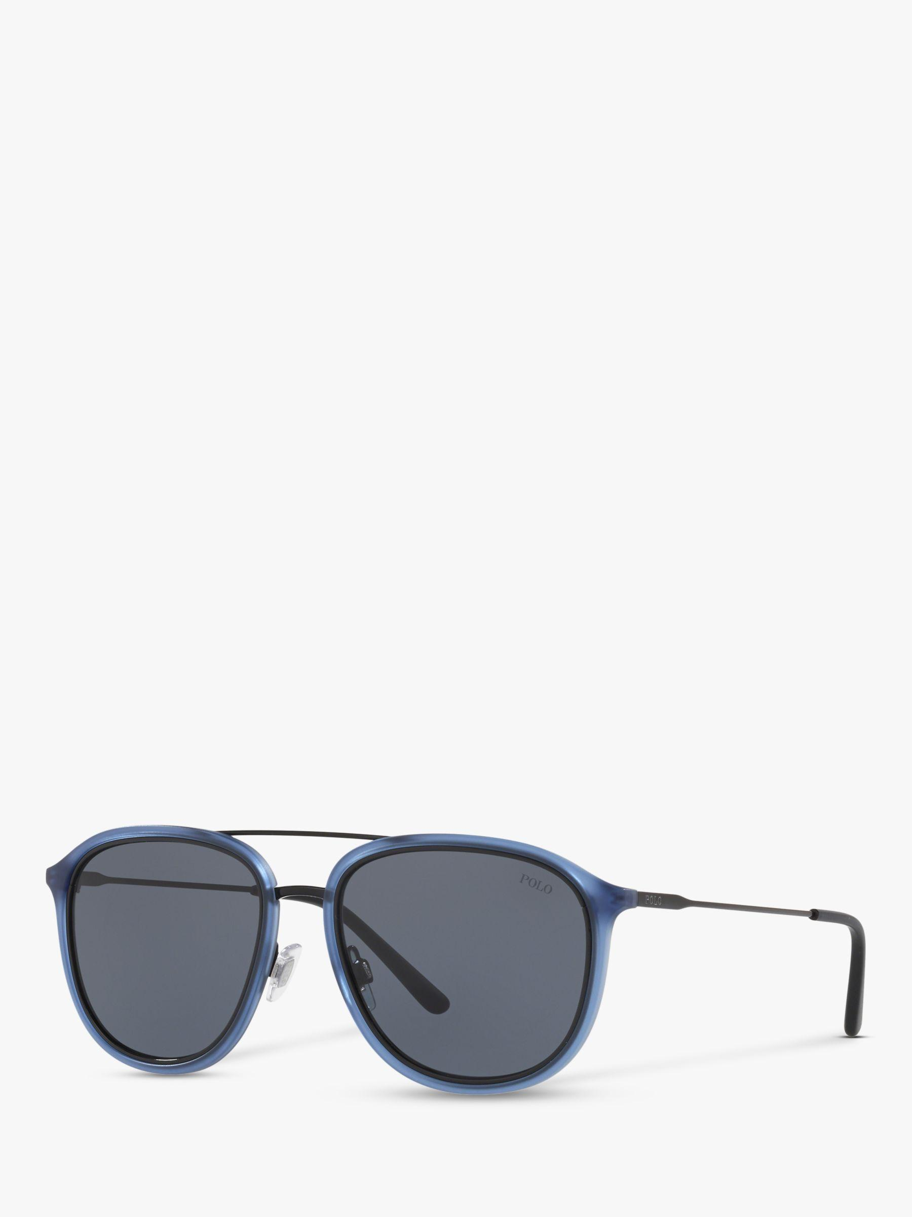 c7bc6b606ff4 Ralph Lauren Polo Ph4146 Men's Pilot Sunglasses in Blue for Men - Lyst