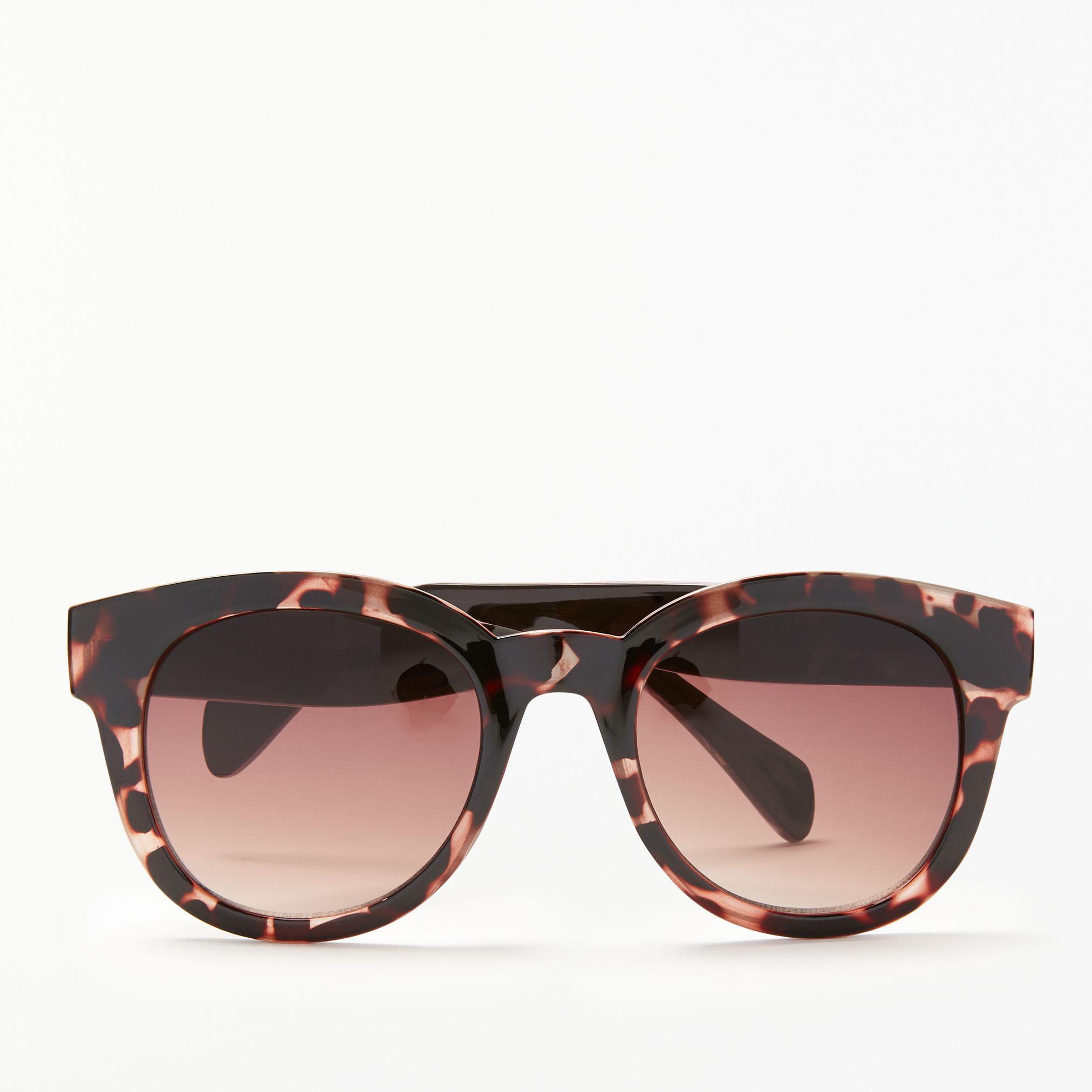 5645121502 John Lewis Milky Preppy Round Sunglasses - Lyst