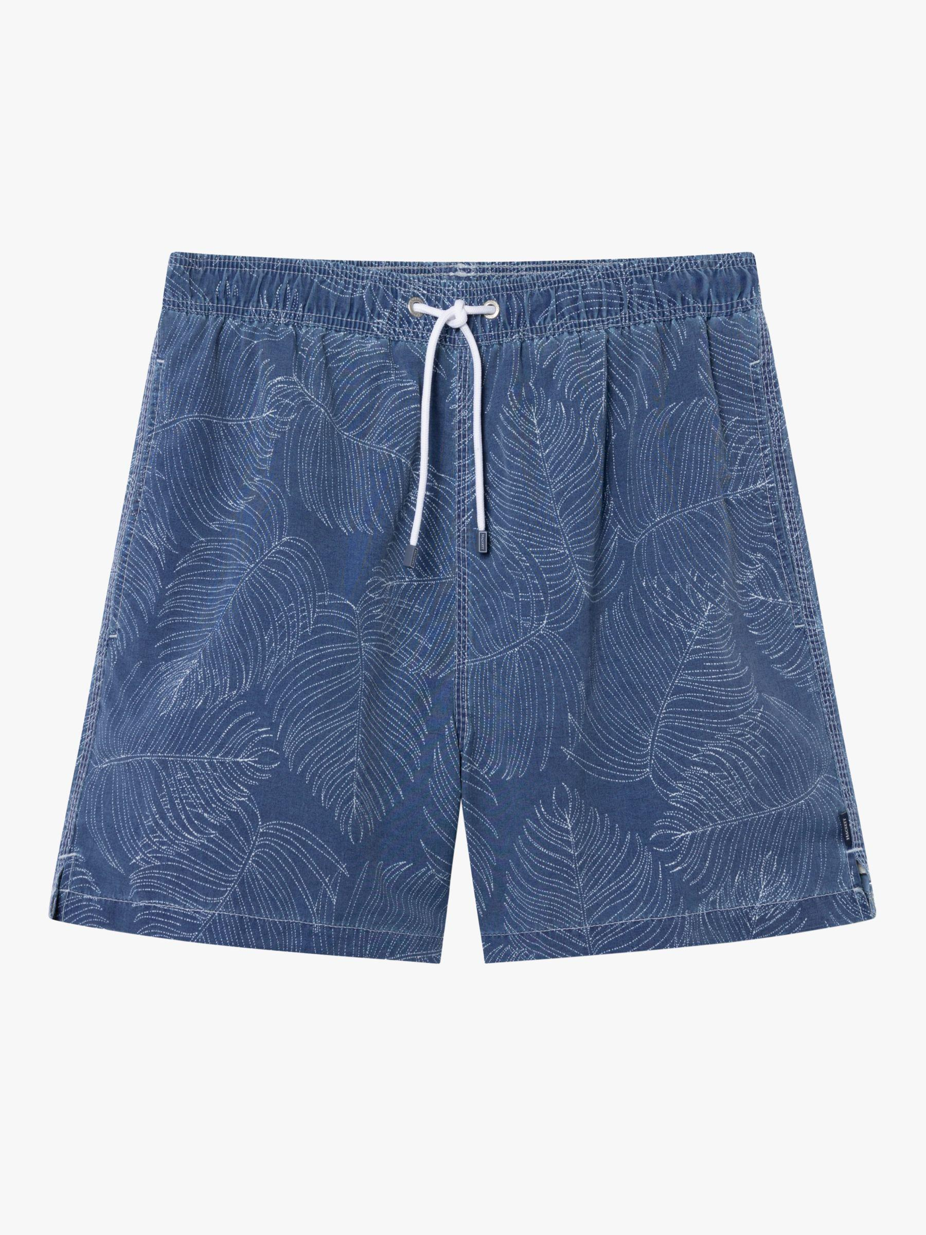 c0152cf6dd Hackett Leaf Swim Shorts in Blue for Men - Lyst