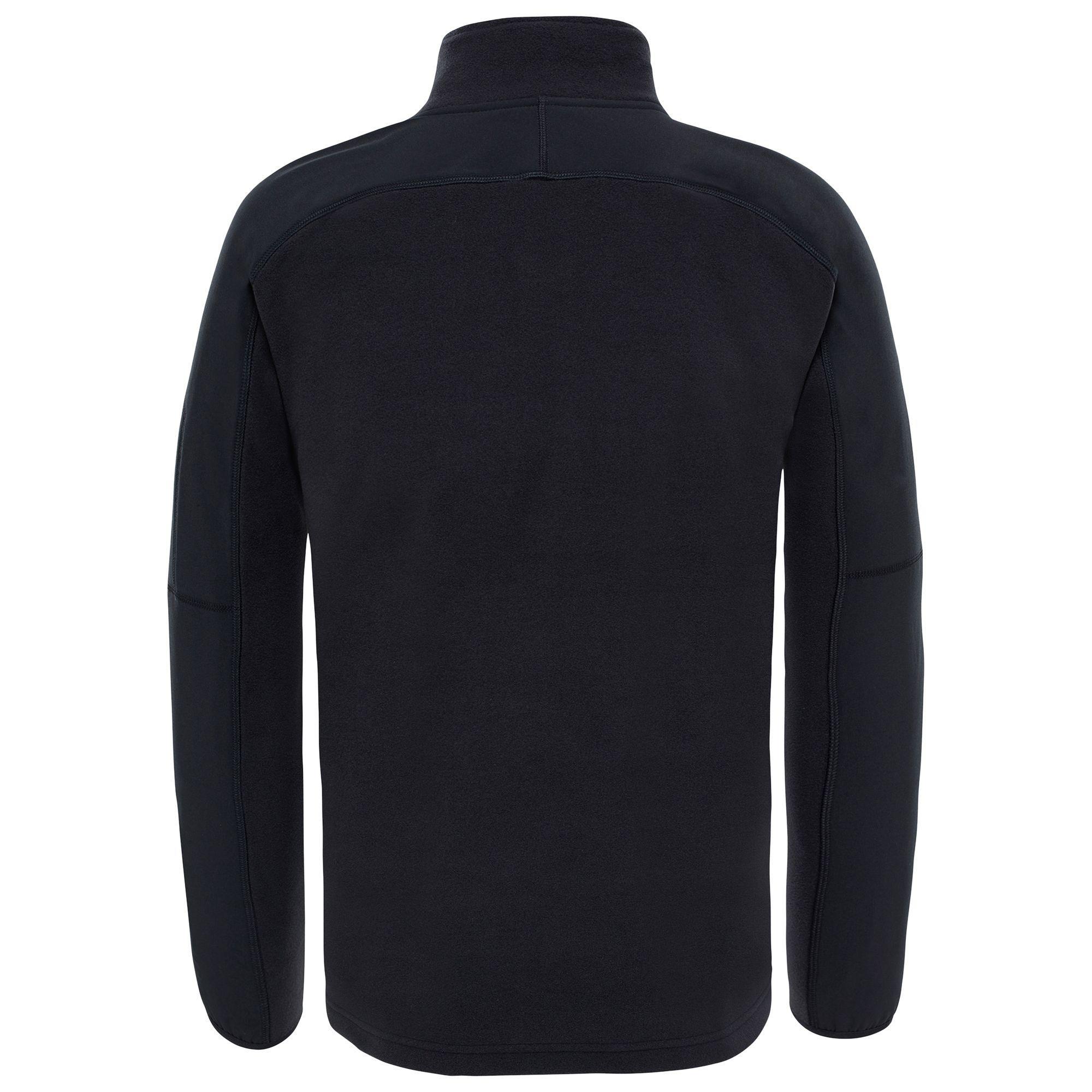8b558996b The North Face Glacier Delta Quarter Zip Fleece in Black for Men - Lyst