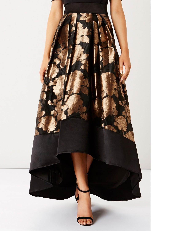 12bccd827 Coast Flower Rhian Skirt in Metallic - Lyst