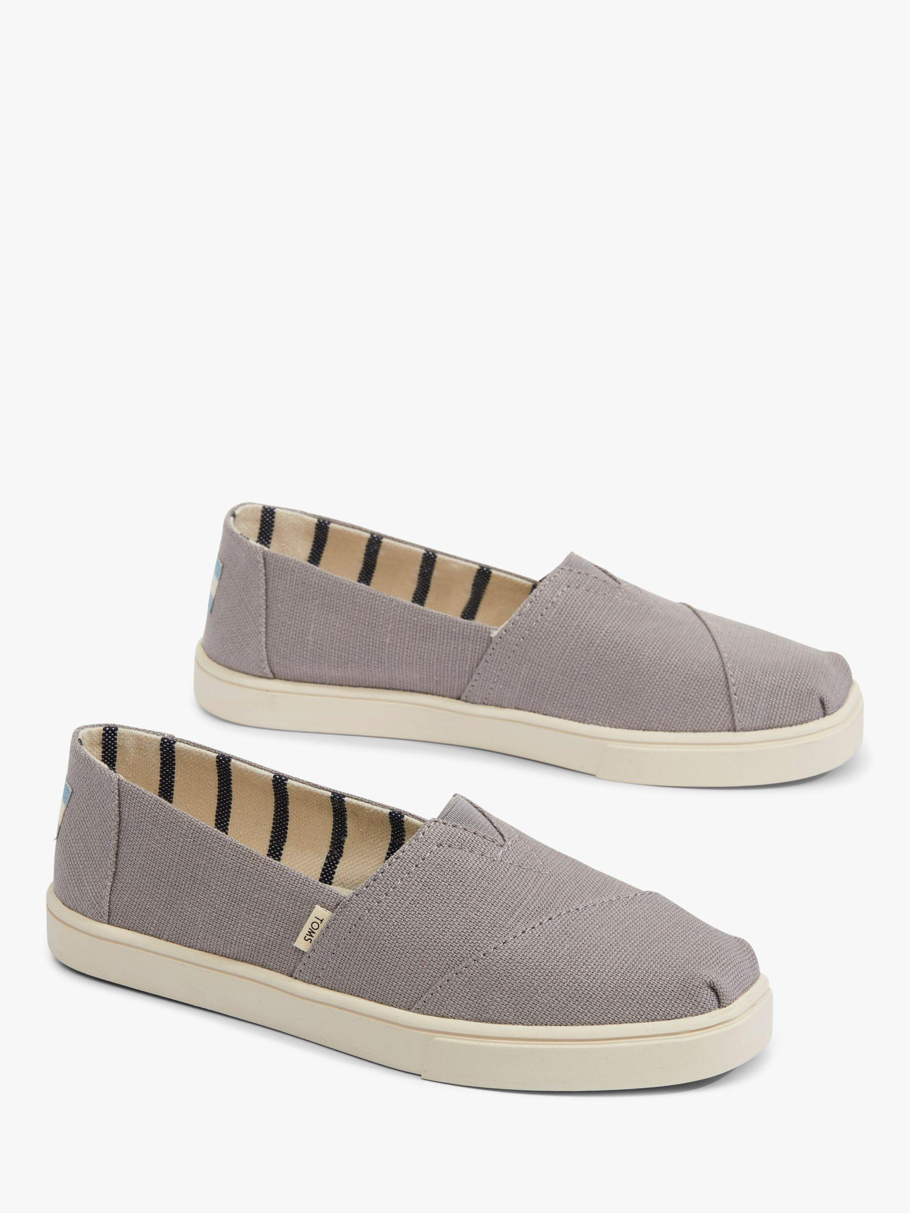 e3010871ee2 TOMS Alpargata Morning Canvas Espadrilles in Gray - Lyst