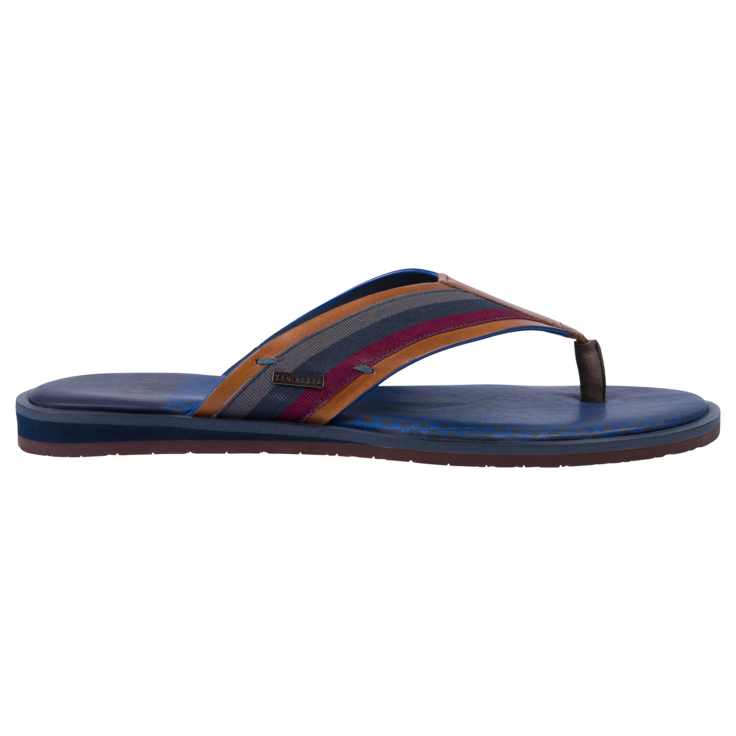 ae6ce937dfa4 Ted Baker Knowlun Toe Post Sandals in Blue for Men - Lyst