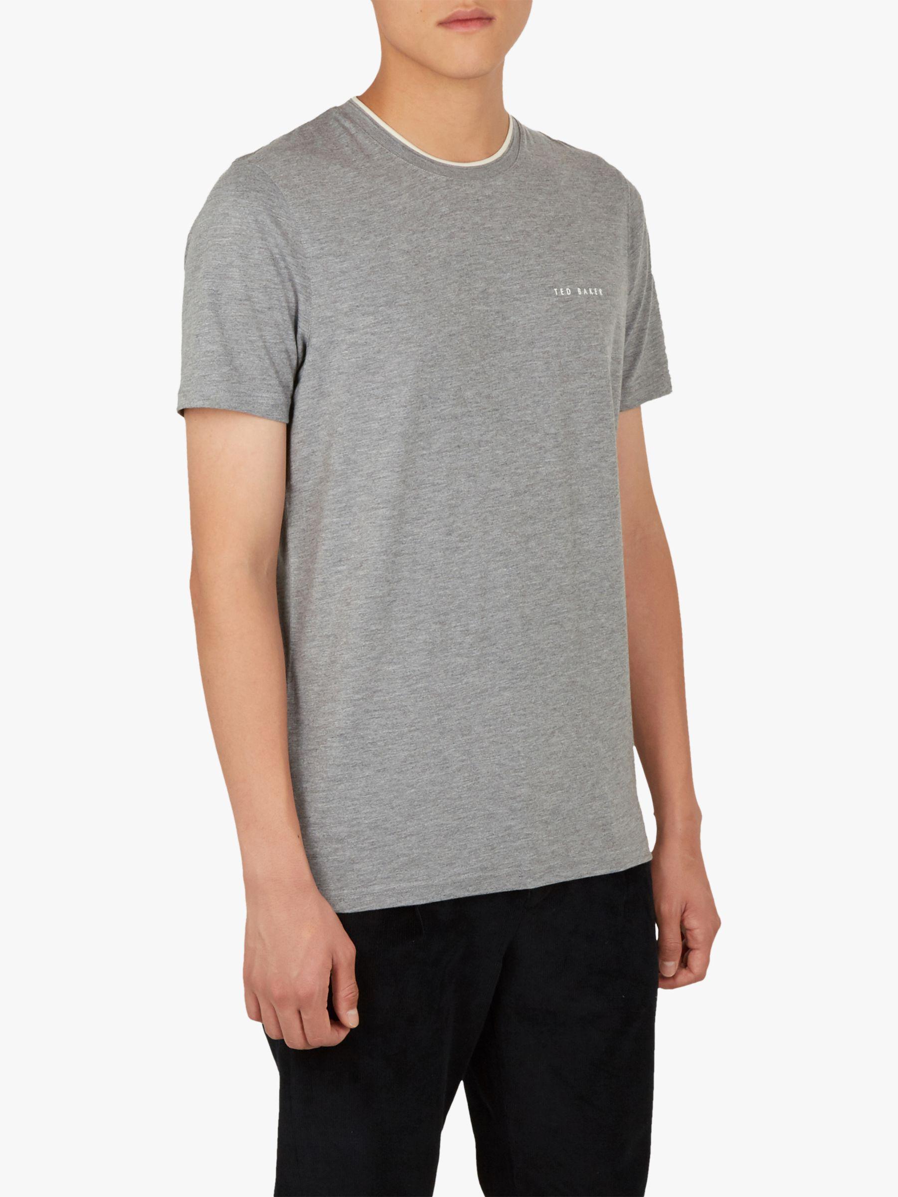 ac608bf66eeeb9 Ted Baker - Gray Rooma Short Sleeve T-shirt for Men - Lyst. View fullscreen