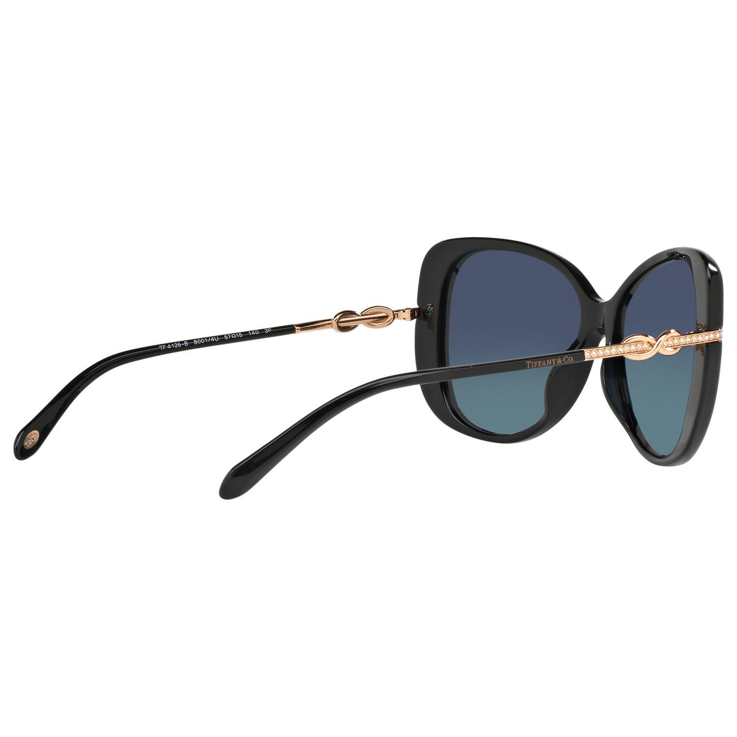 4be2d854d78c Tiffany   Co. Tf4126b Polarised Embellished Cat s Eye Sunglasses in ...