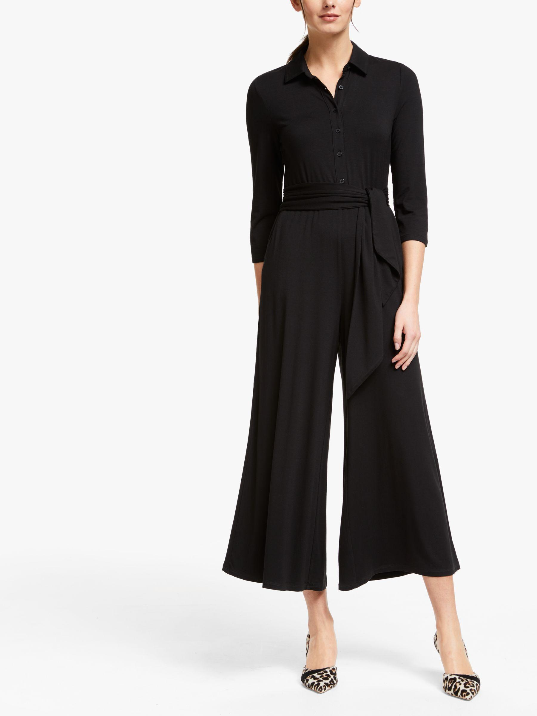 bbc53f79989 Boden Beatrice Jersey Jumpsuit in Black - Lyst
