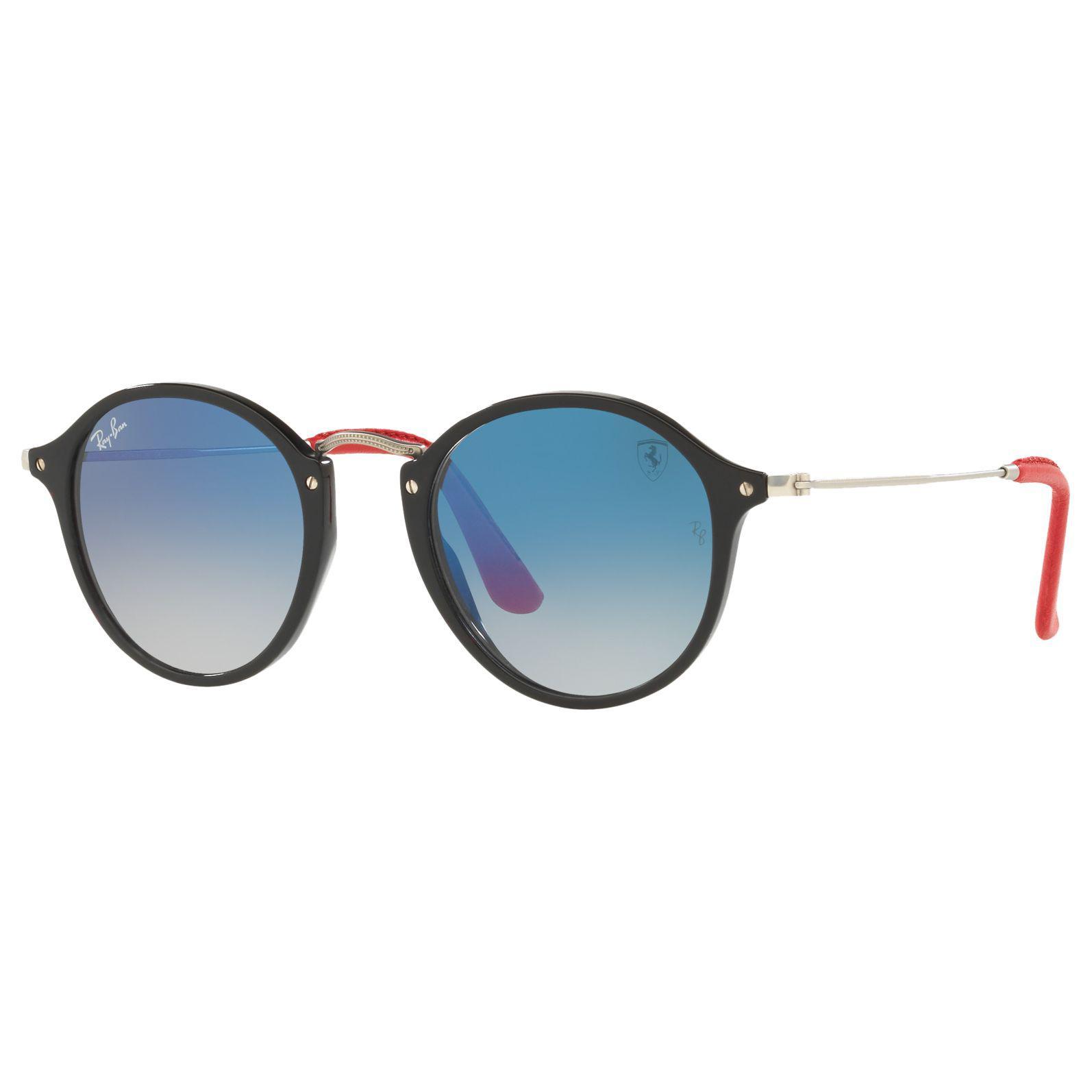 4c39cd58ce Ray-Ban Rb2447nm Scuderia Ferrari Round Sunglasses in Blue for Men ...