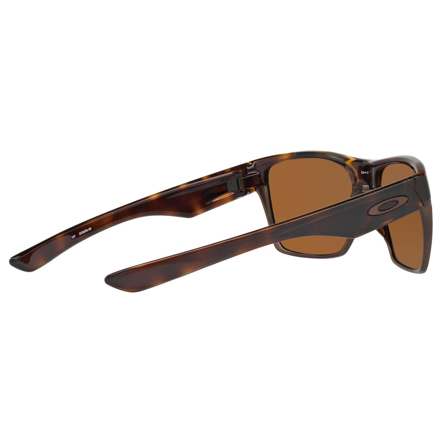 a5e9bce8f96 Oakley Oo9350 Two Face Xl Square Sunglasses in Brown for Men - Lyst