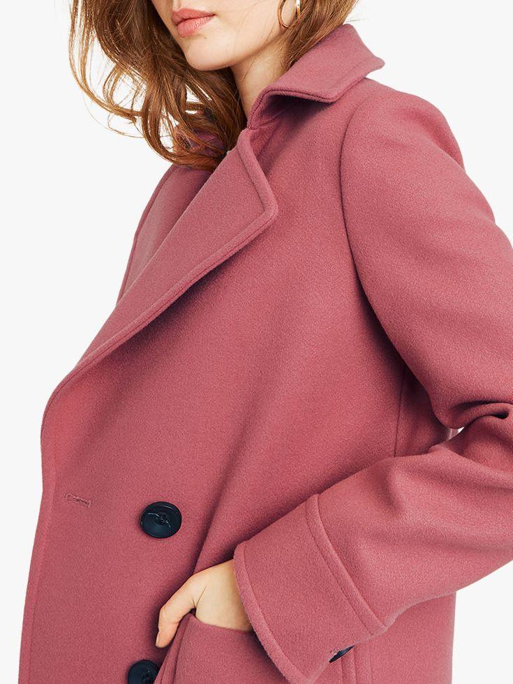 40900a071692 Oasis - Pink Charmaine Coat - Lyst. View fullscreen