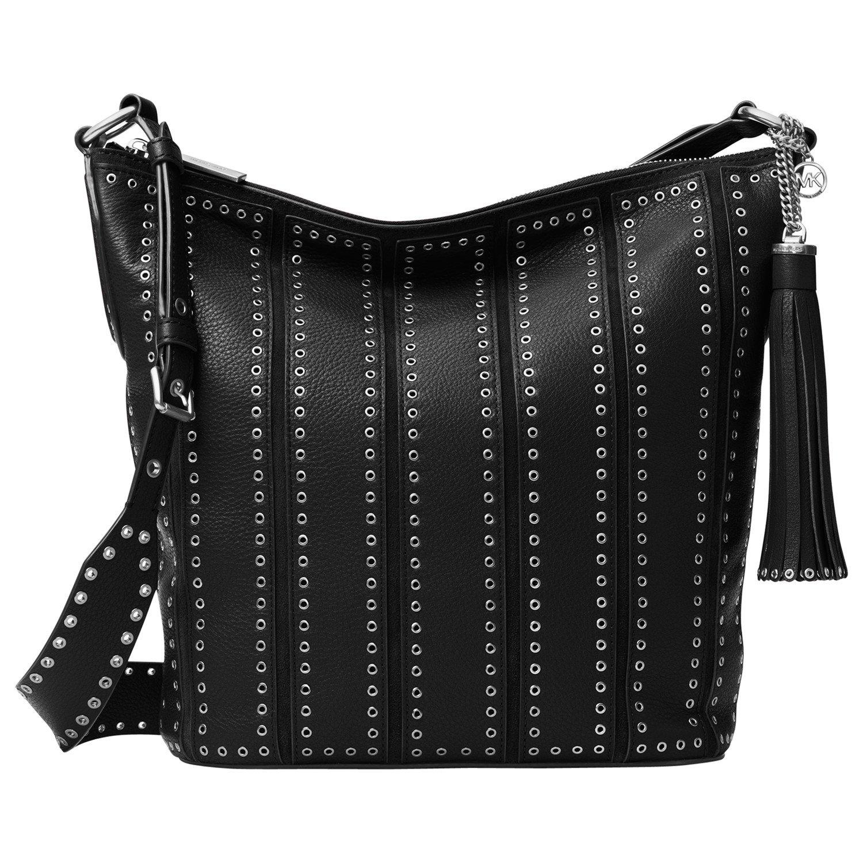 c0a7eda66485 MICHAEL Michael Kors Brooklyn Large Grommet Leather Feed Bag in ...
