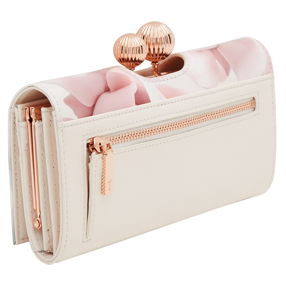 b3d2dd725e4e5 Ted Baker Idella Porcelain Rose Leather Matinee Purse in Pink - Lyst