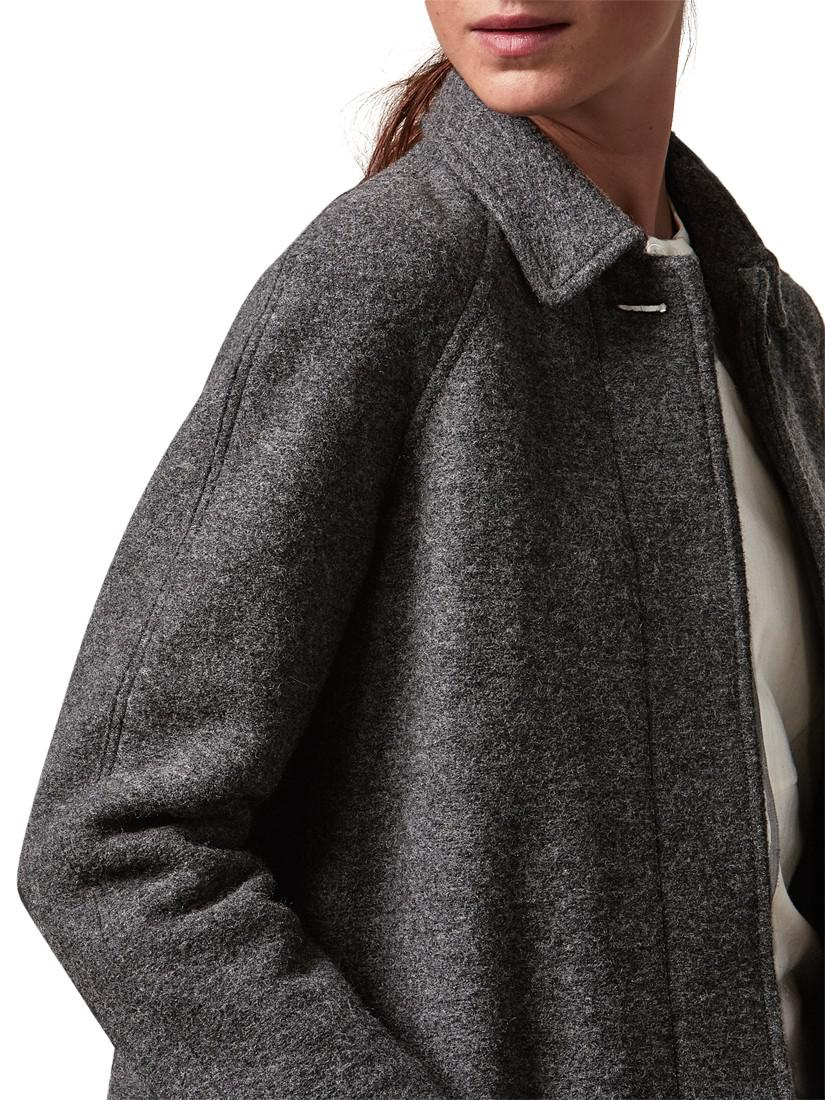 e055177f0 Toast Boiled Wool Coat in Gray - Lyst