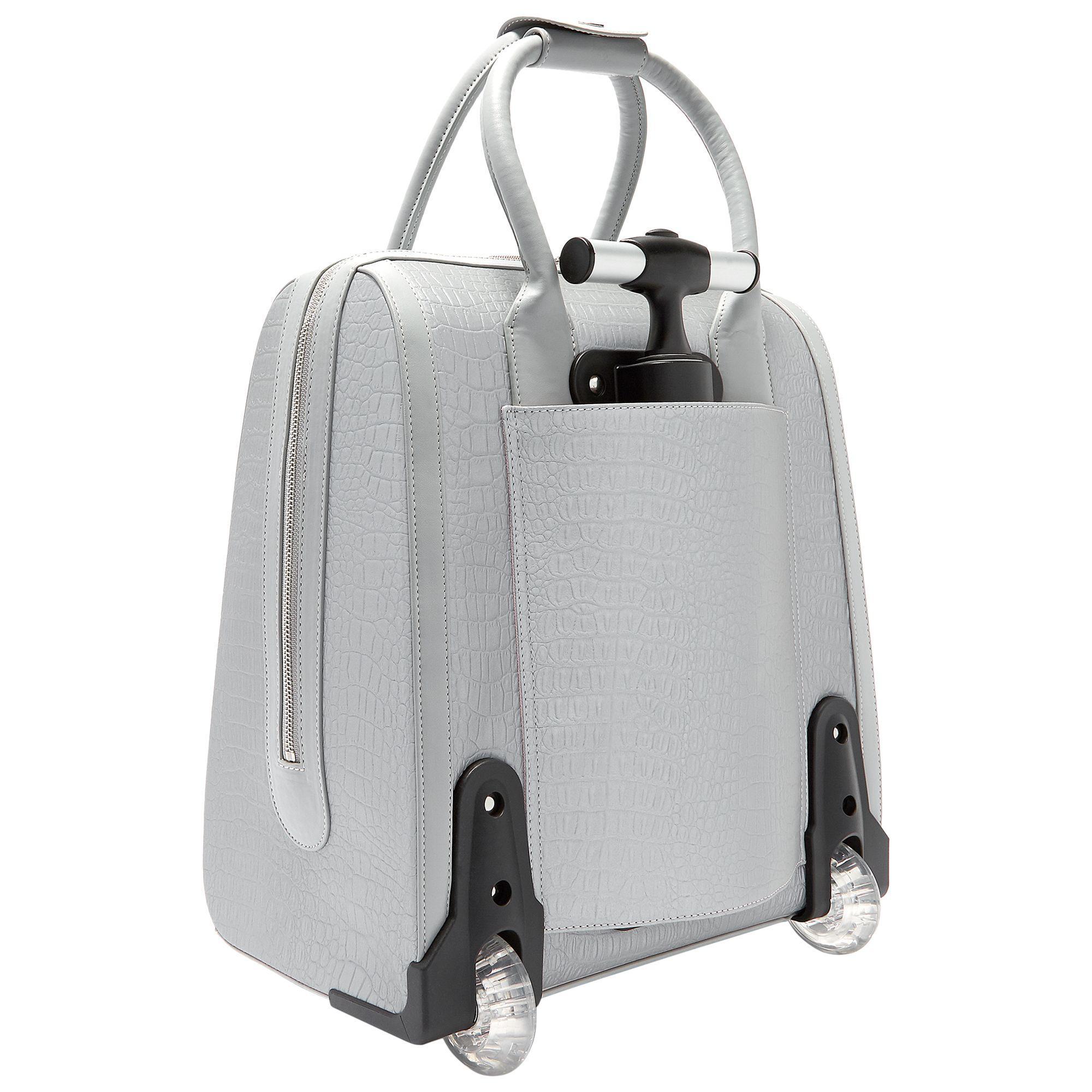 c7d5823a3e3752 Ted Baker Cressa Textured Travel Bag in Metallic - Lyst