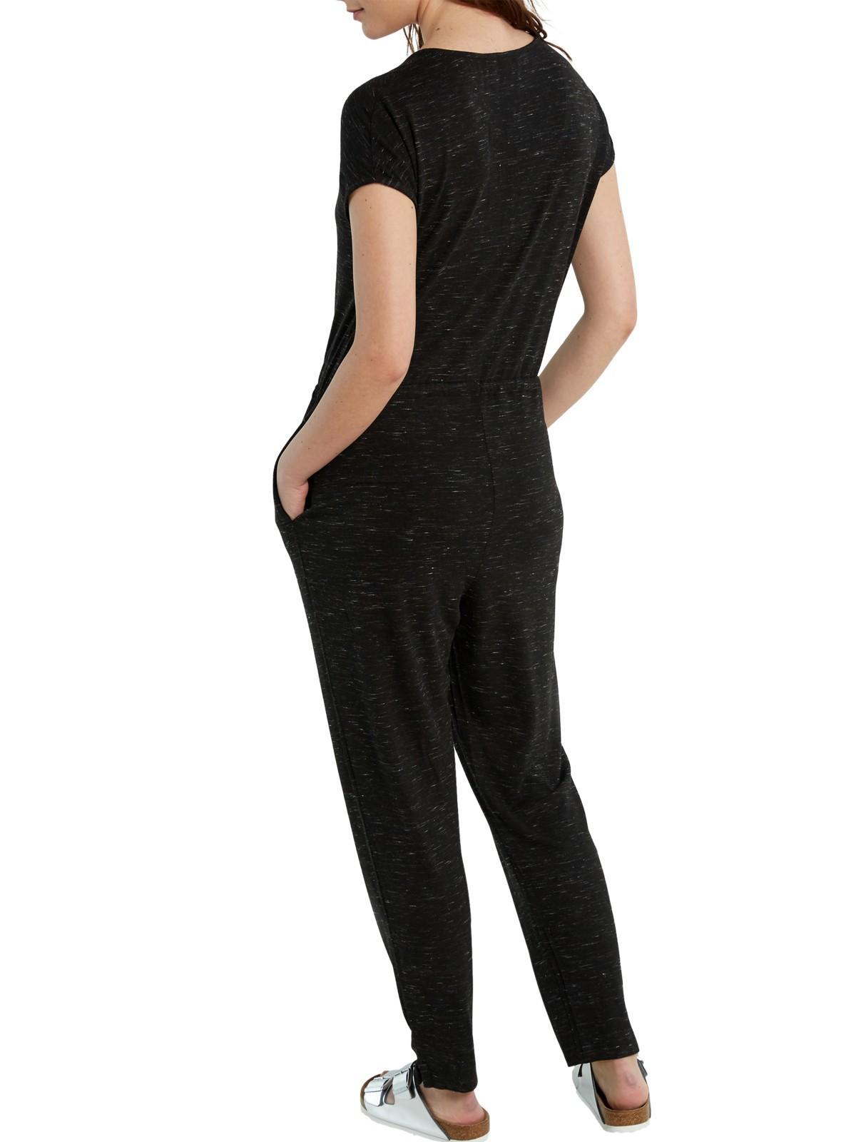80d8db666387 White Stuff Maddy Jersey Jumpsuit in Black - Lyst