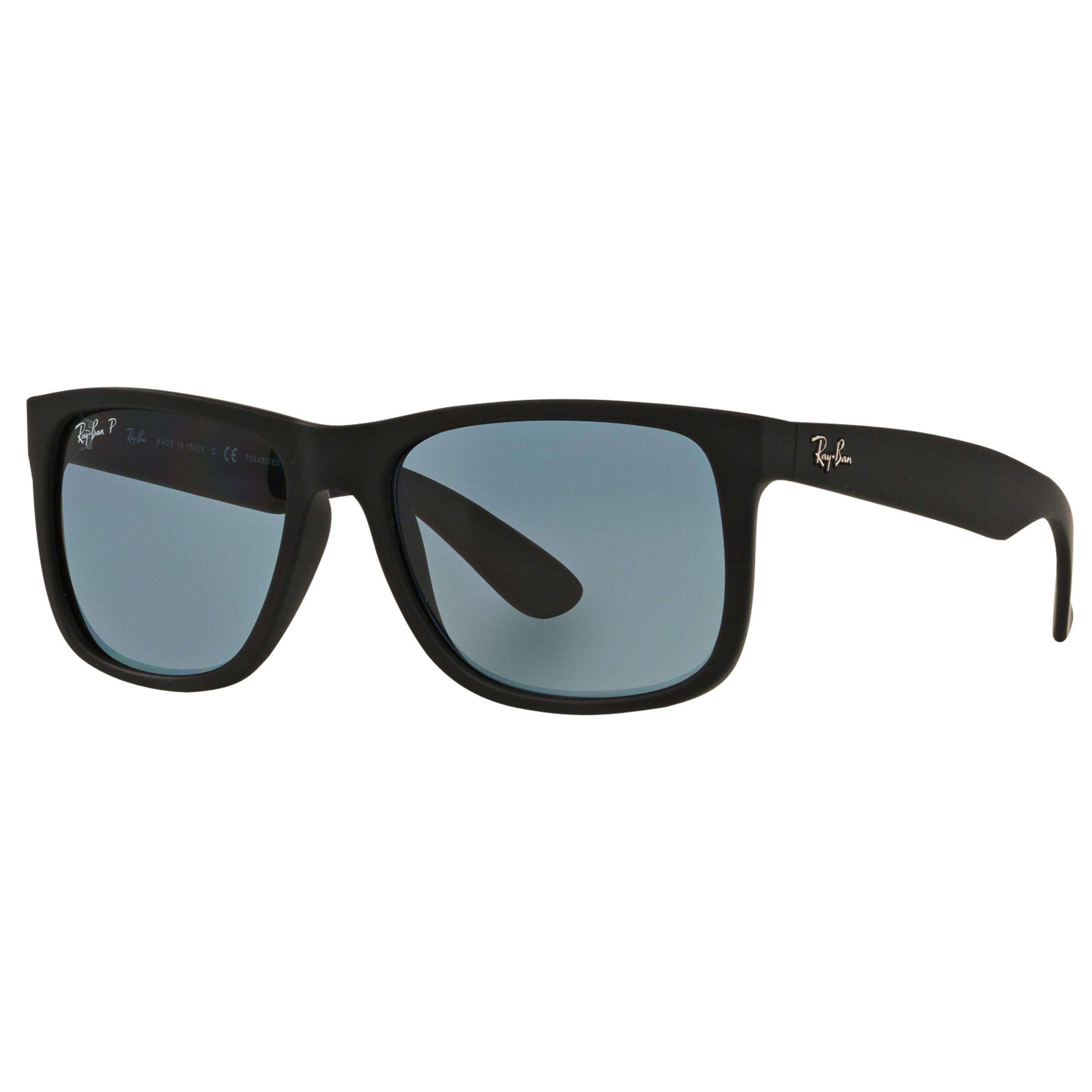 e302a4d3671 Ray-Ban Rb4165 Justin Polarised Wayfarer Sunglasses in Blue - Lyst