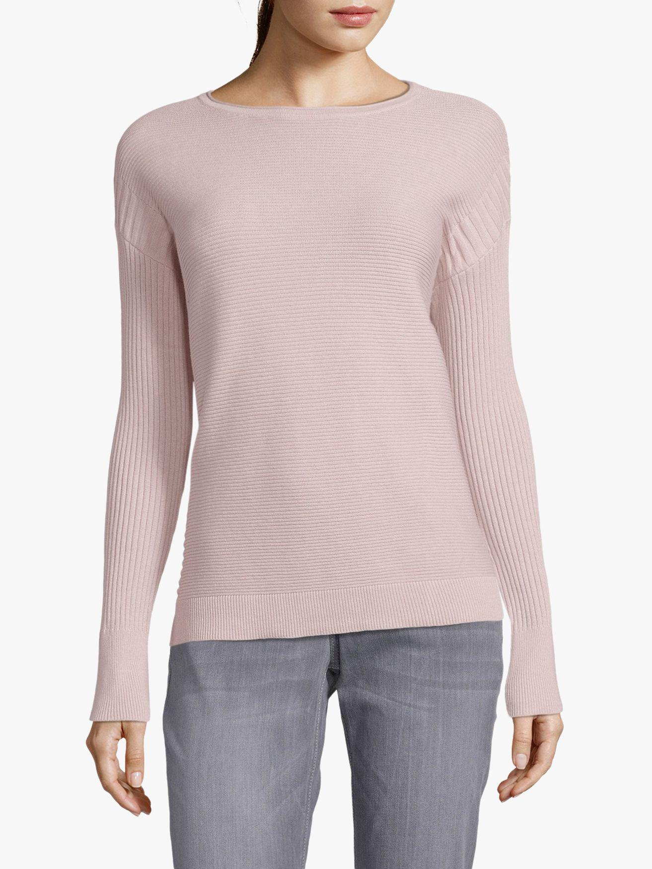 Betty Barclay Multi Texture Ribbed Knit Jumper in Pink - Lyst 5ad172d22