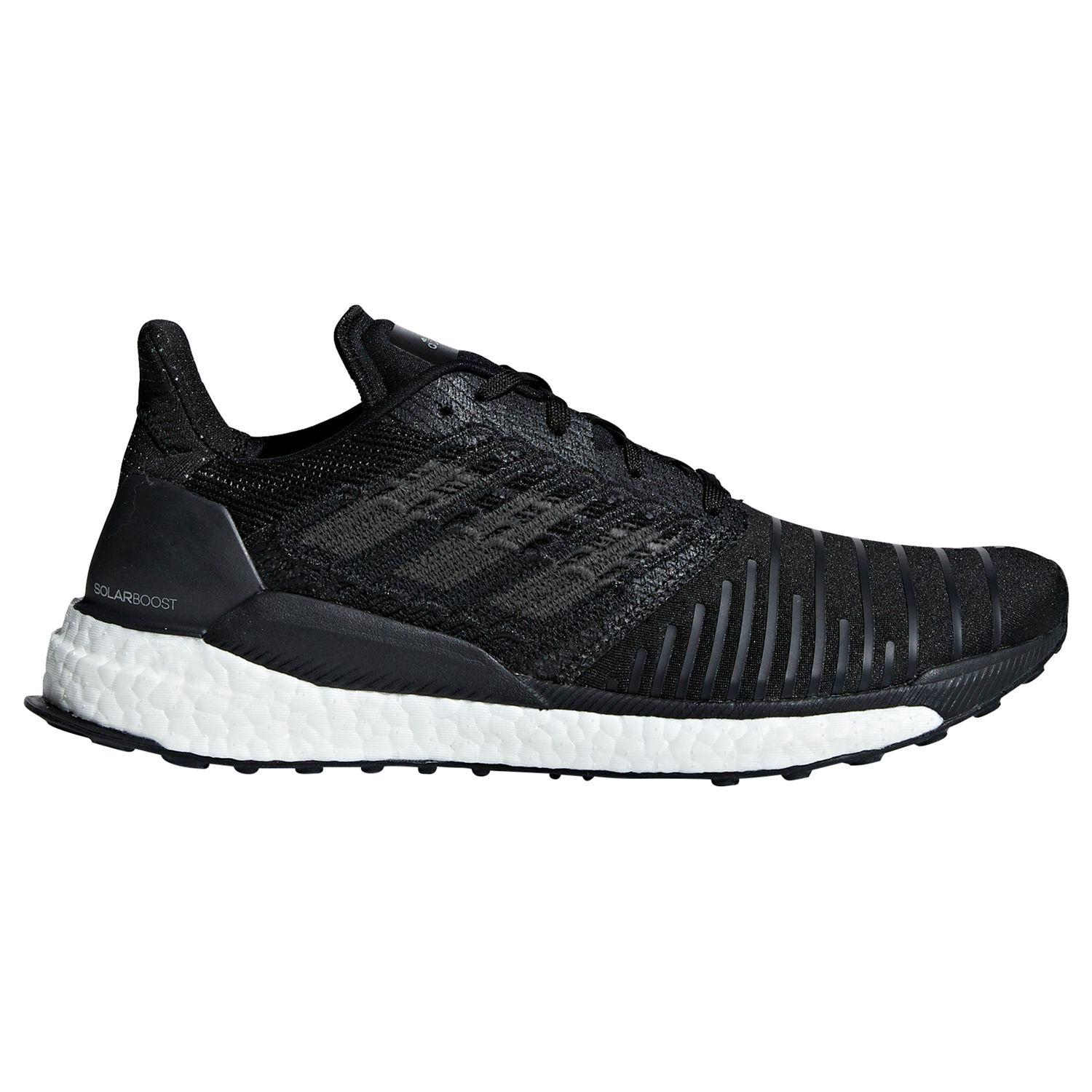 aae80e90e adidas Solar Boost Men s Running Shoes in Black for Men - Save 27 ...