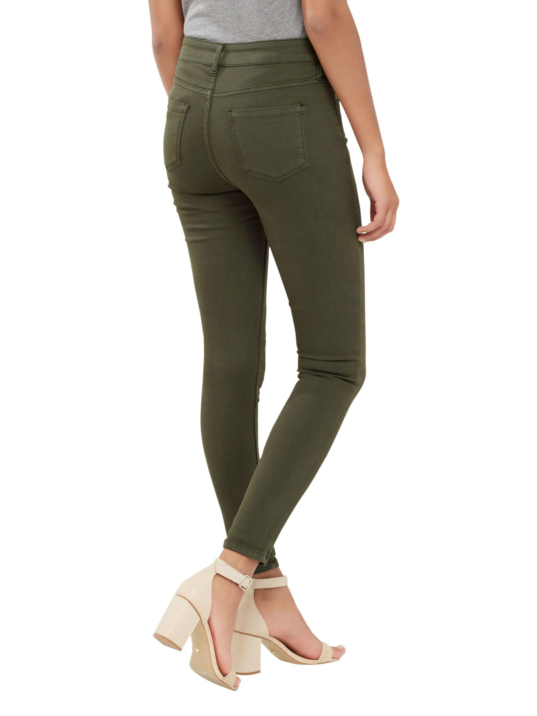 4464549f13fb Gallery. Women's High Waisted Jeans Women's White Skinny ...