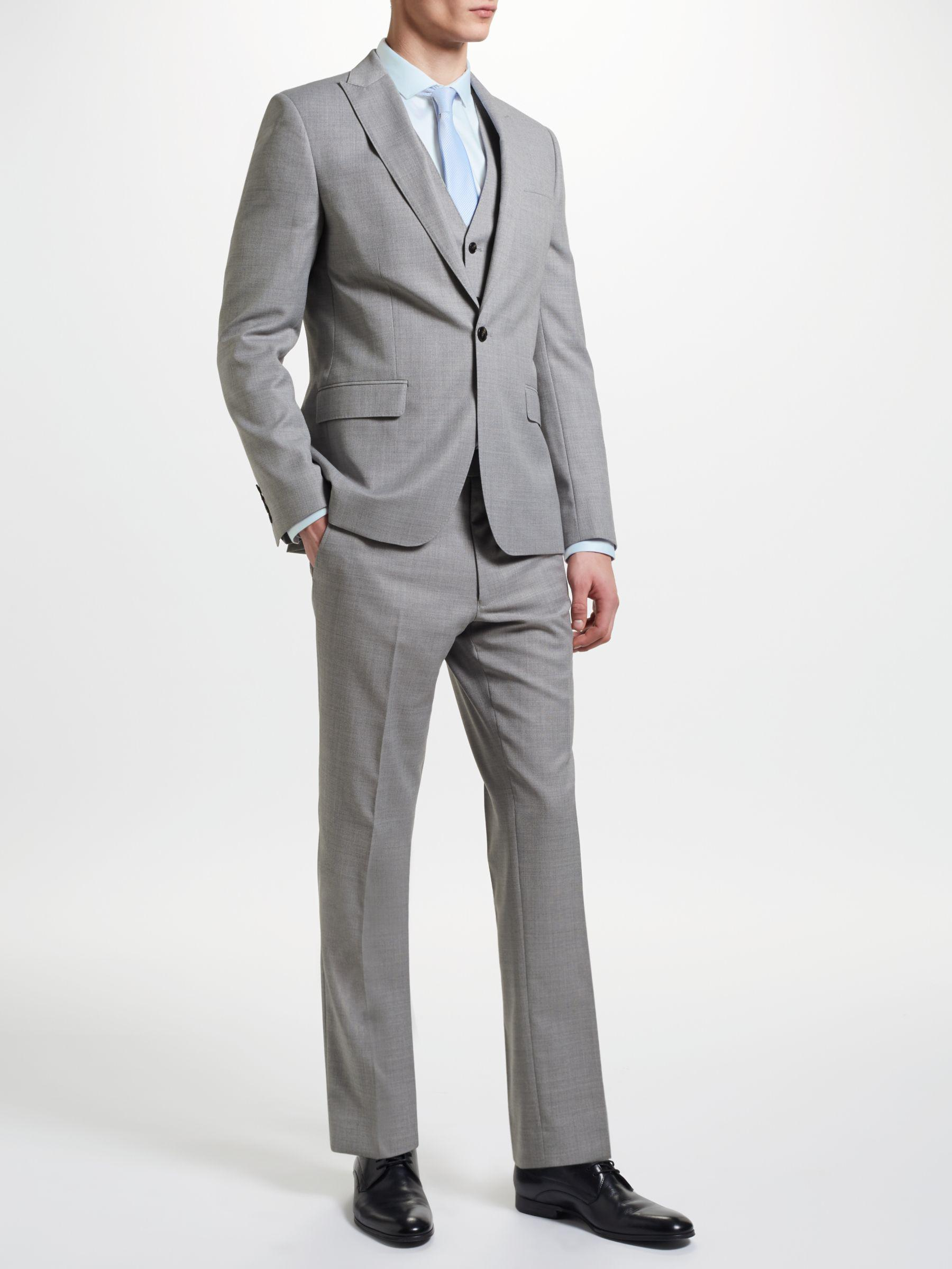 397e242e530 John Lewis Kin By Crepe Slim Fit Suit Jacket in Gray for Men - Lyst