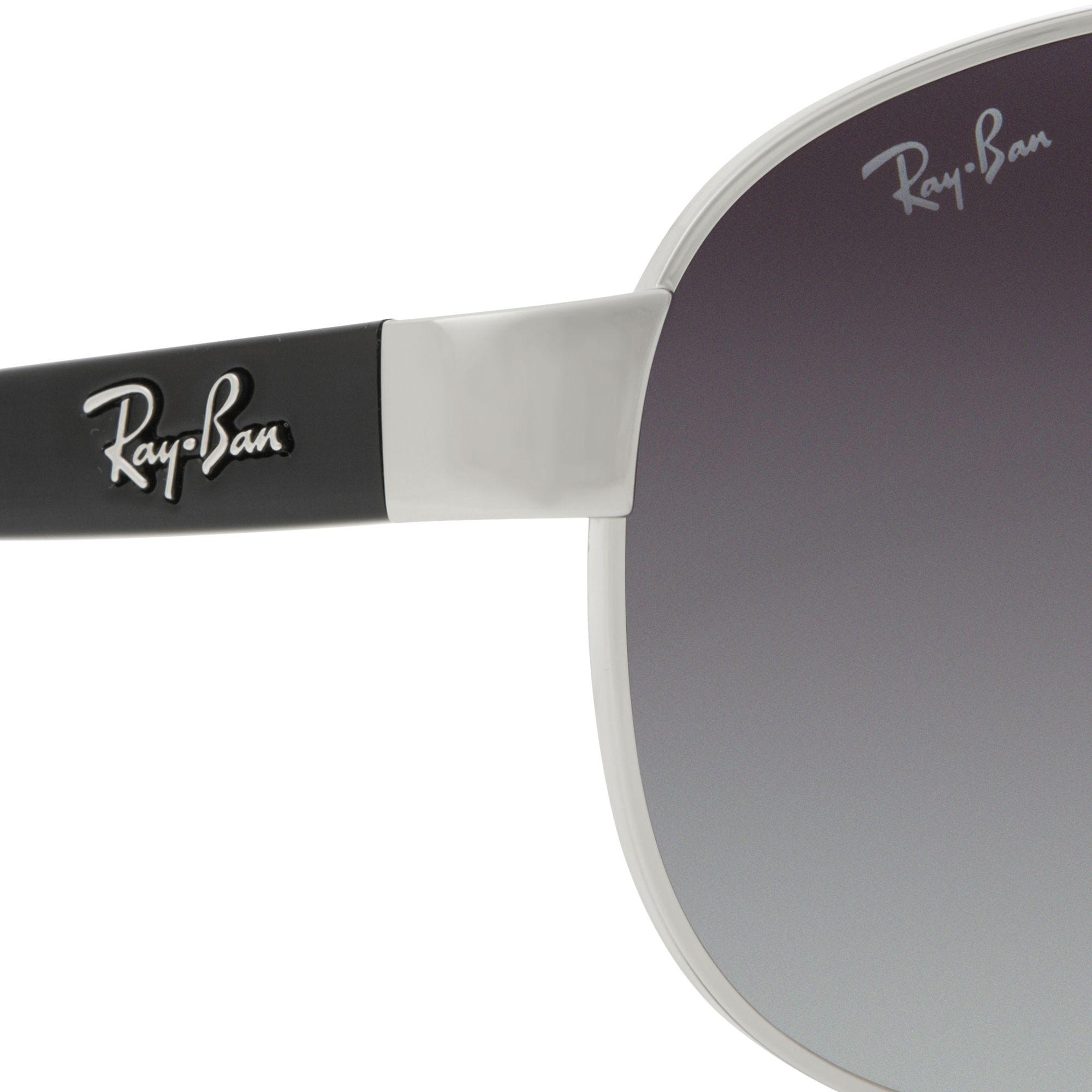 2582945be8 Ray-Ban Rb3386 Oval Aviator Sunglasses in Gray for Men - Lyst