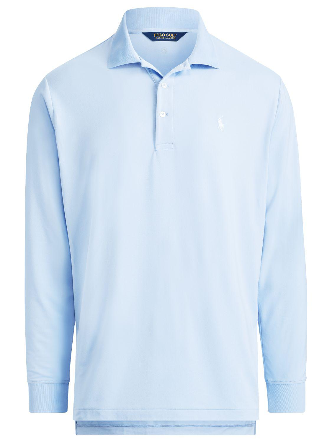 0154a82ff Ralph Lauren Polo Golf By Lightweight Interlock Long Sleeve Polo ...