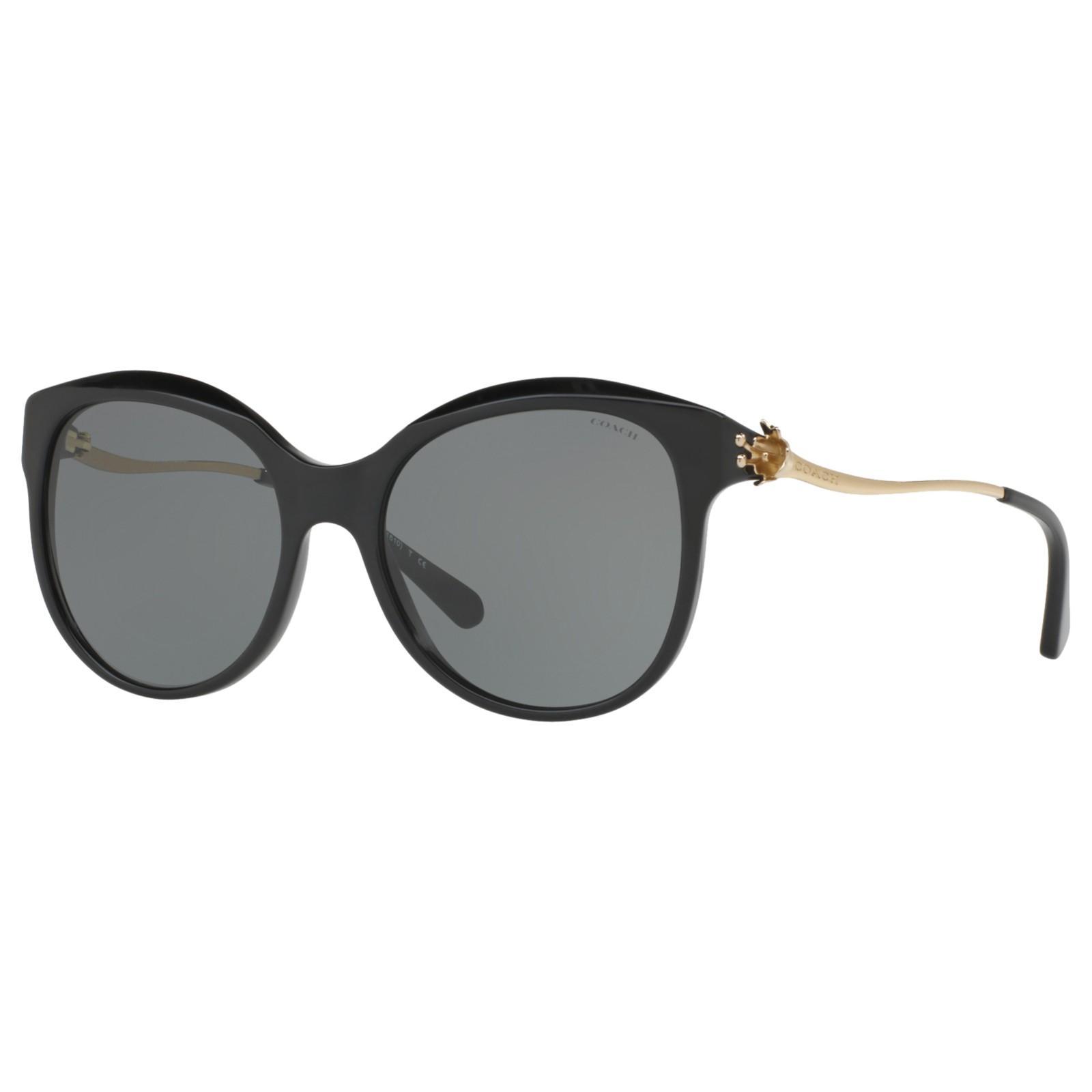 113cdf07b4 Coach Hc8189 Oval Sunglasses in Gray - Lyst