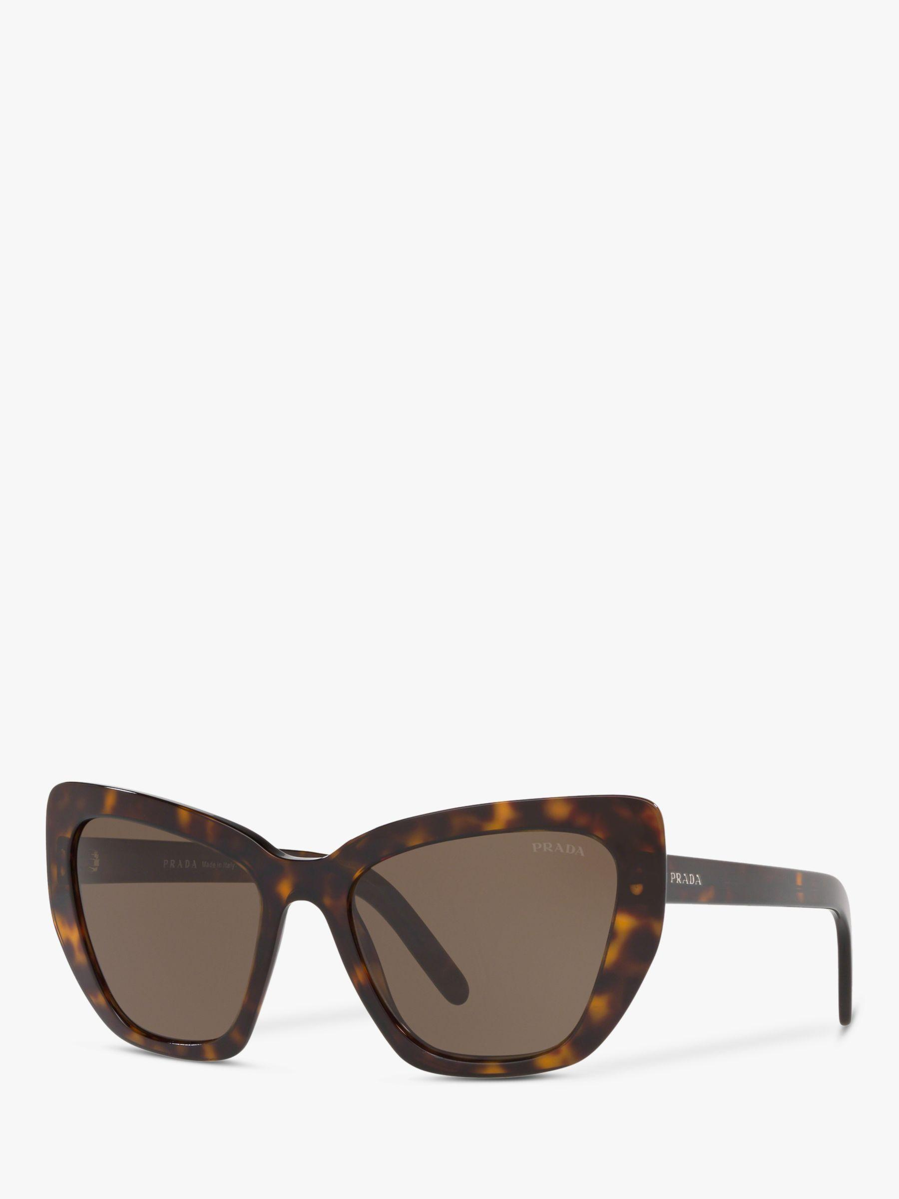 4343a3e9c672 Prada - Brown Pr 08vs Women's Cat's Eye Sunglasses - Lyst. View fullscreen