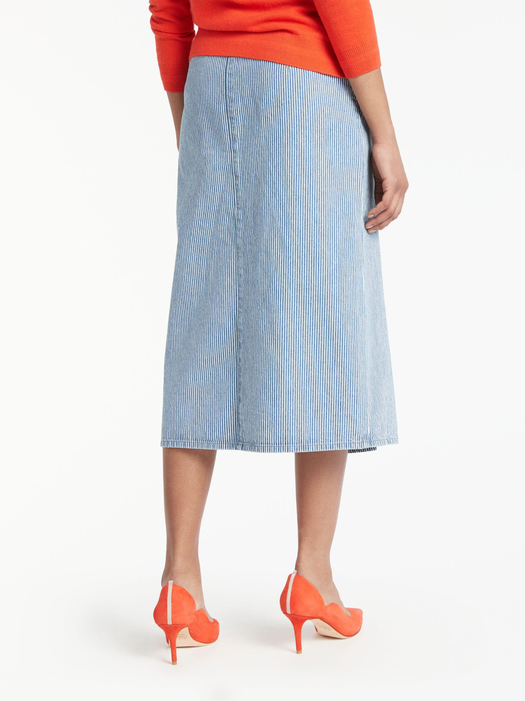 5d5f2675bf Boden Mira Denim Skirt in Blue - Lyst