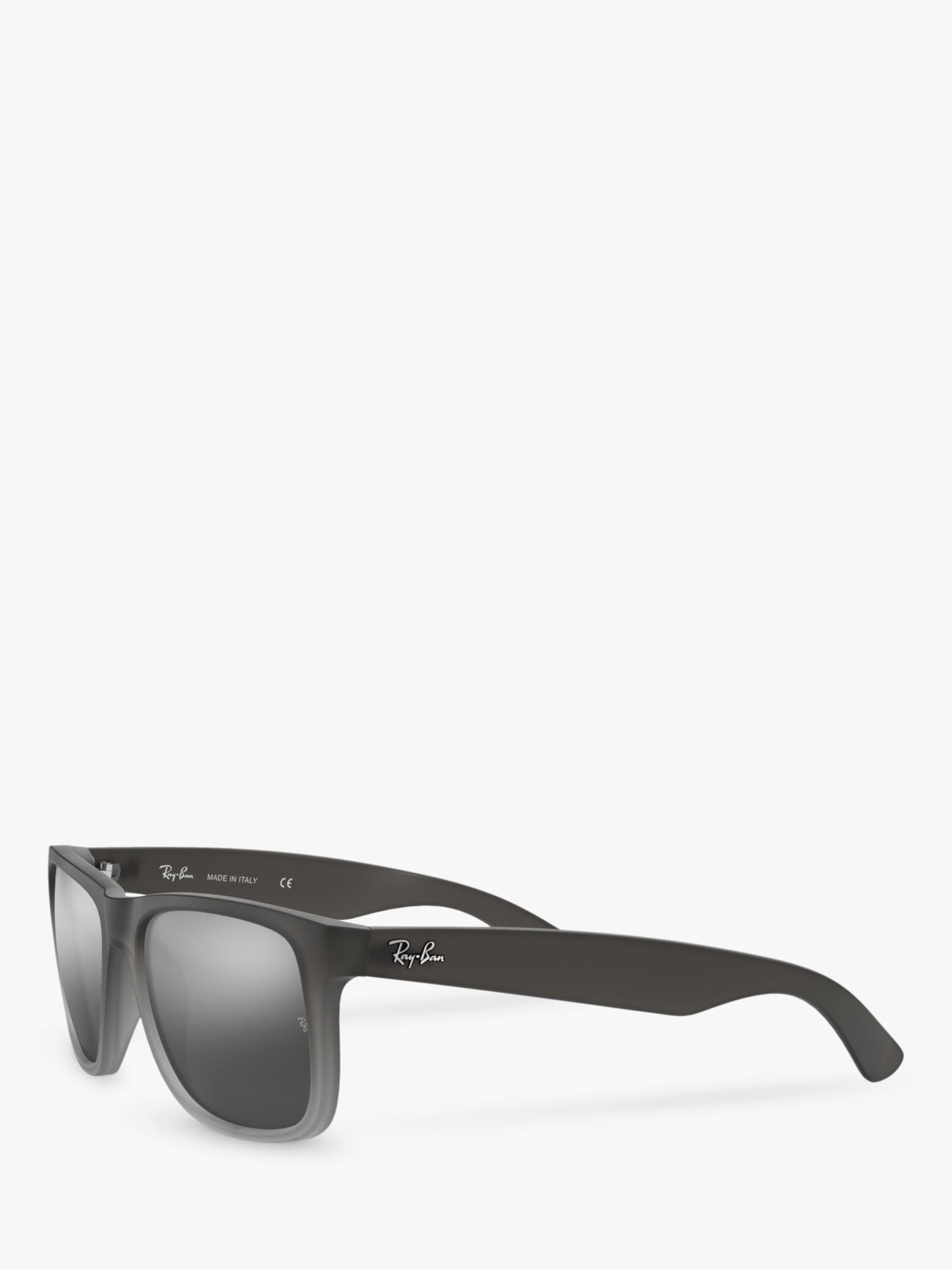 efdc1fa6fcb Ray-Ban Rb4165 Men s Justin Rectangular Sunglasses in Gray for Men - Lyst