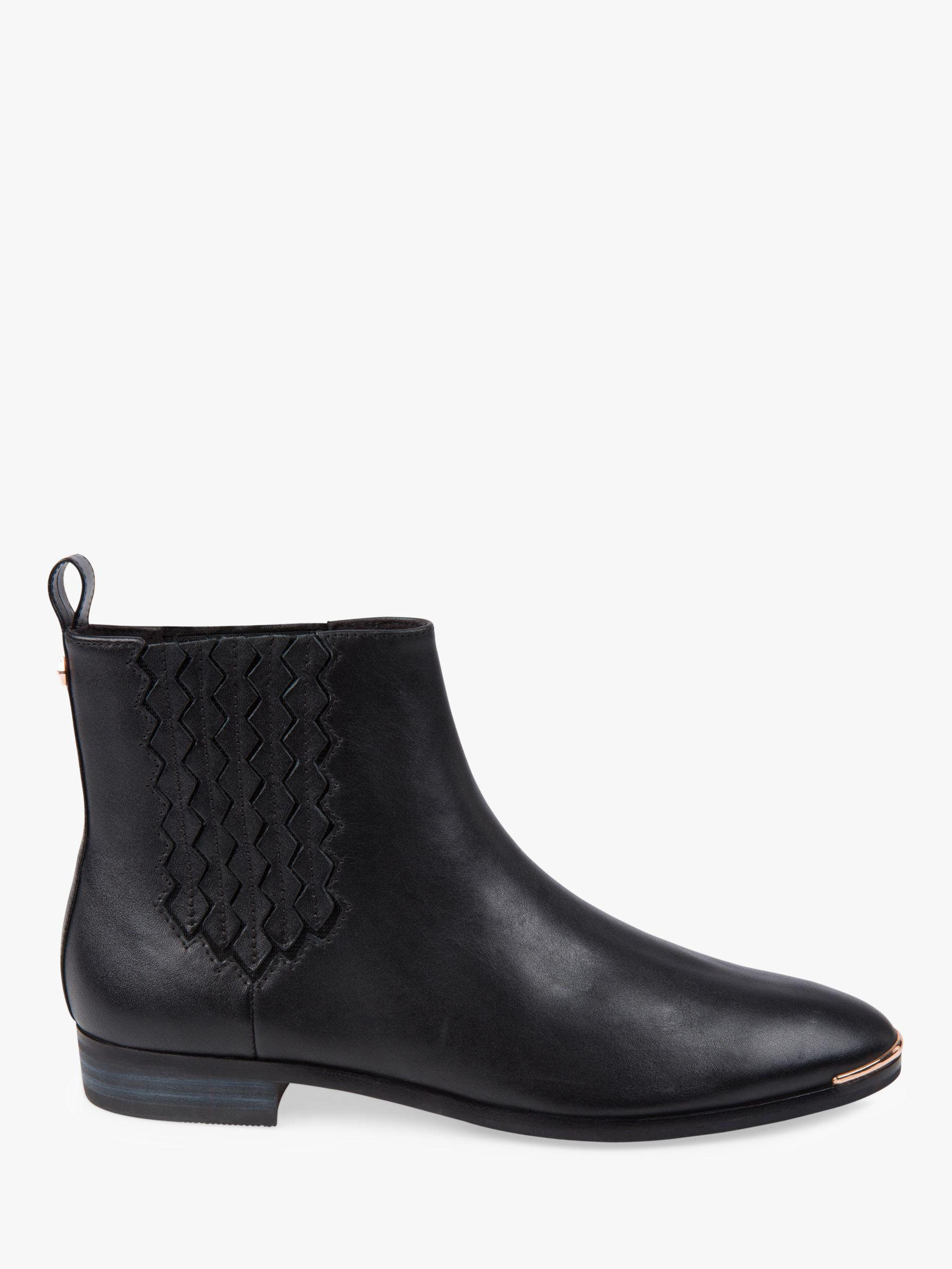9de09fc6068 Ted Baker Liveca Chelsea Ankle Boots in Black - Lyst
