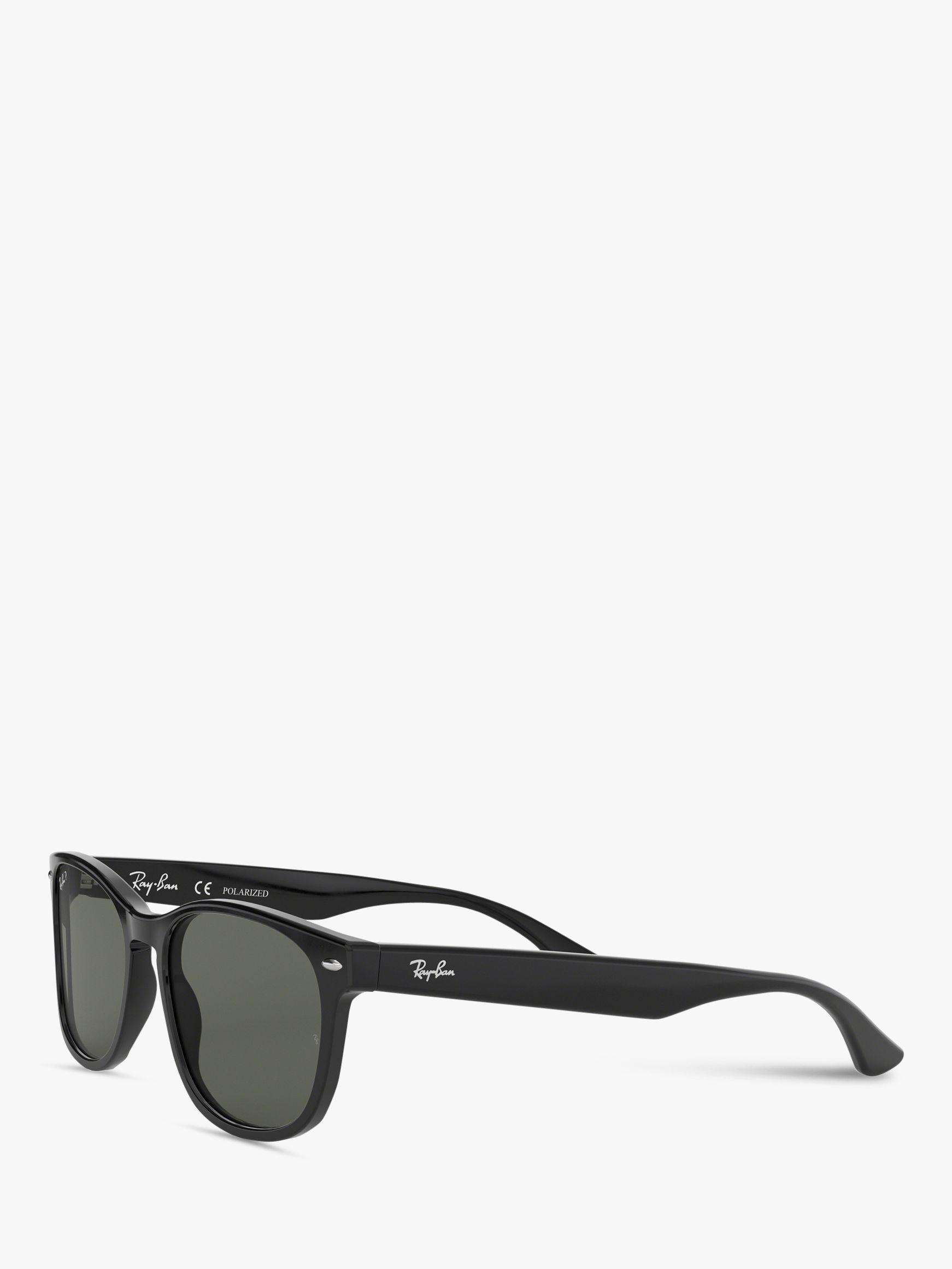 b364933fe2 Ray-Ban Rb2184 Women s Polarised Square Sunglasses in Black - Lyst