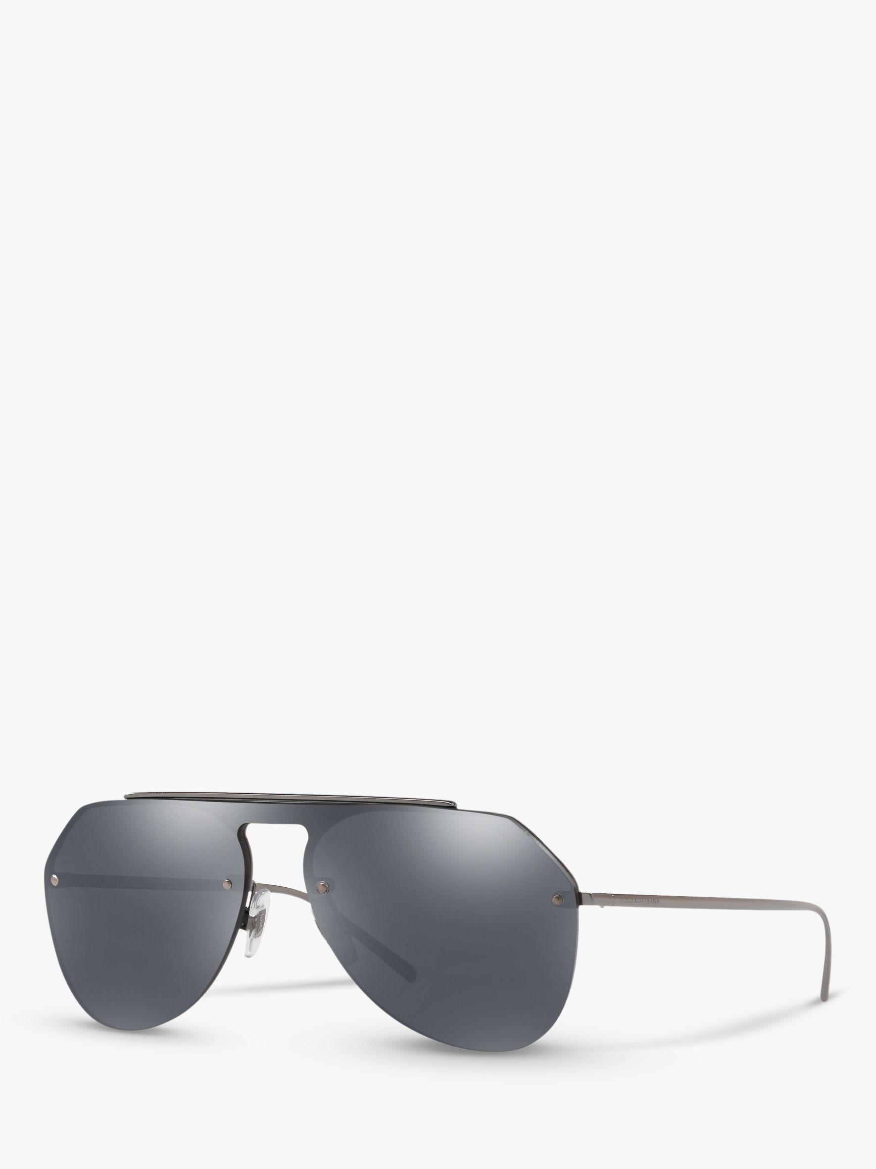 d3137d4d57452 Dolce   Gabbana - Gray Dg2213 Men s Aviator Sunglasses for Men - Lyst. View  fullscreen
