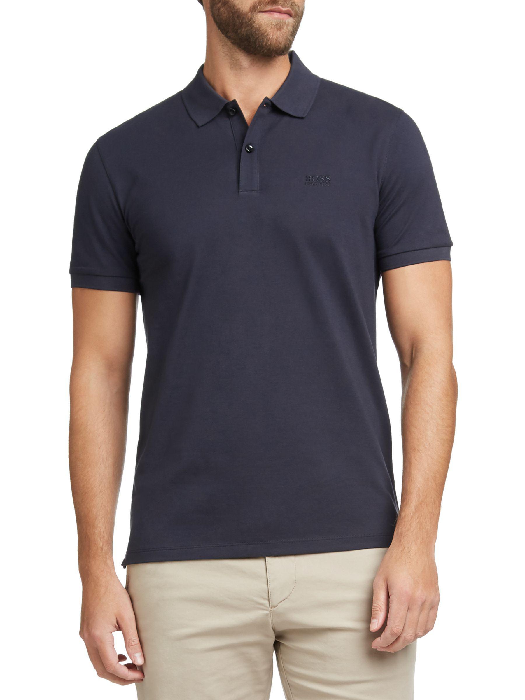 7d02fc5f ... Boss Pallas Regular Fit Polo Shirt for Men - Lyst. View fullscreen