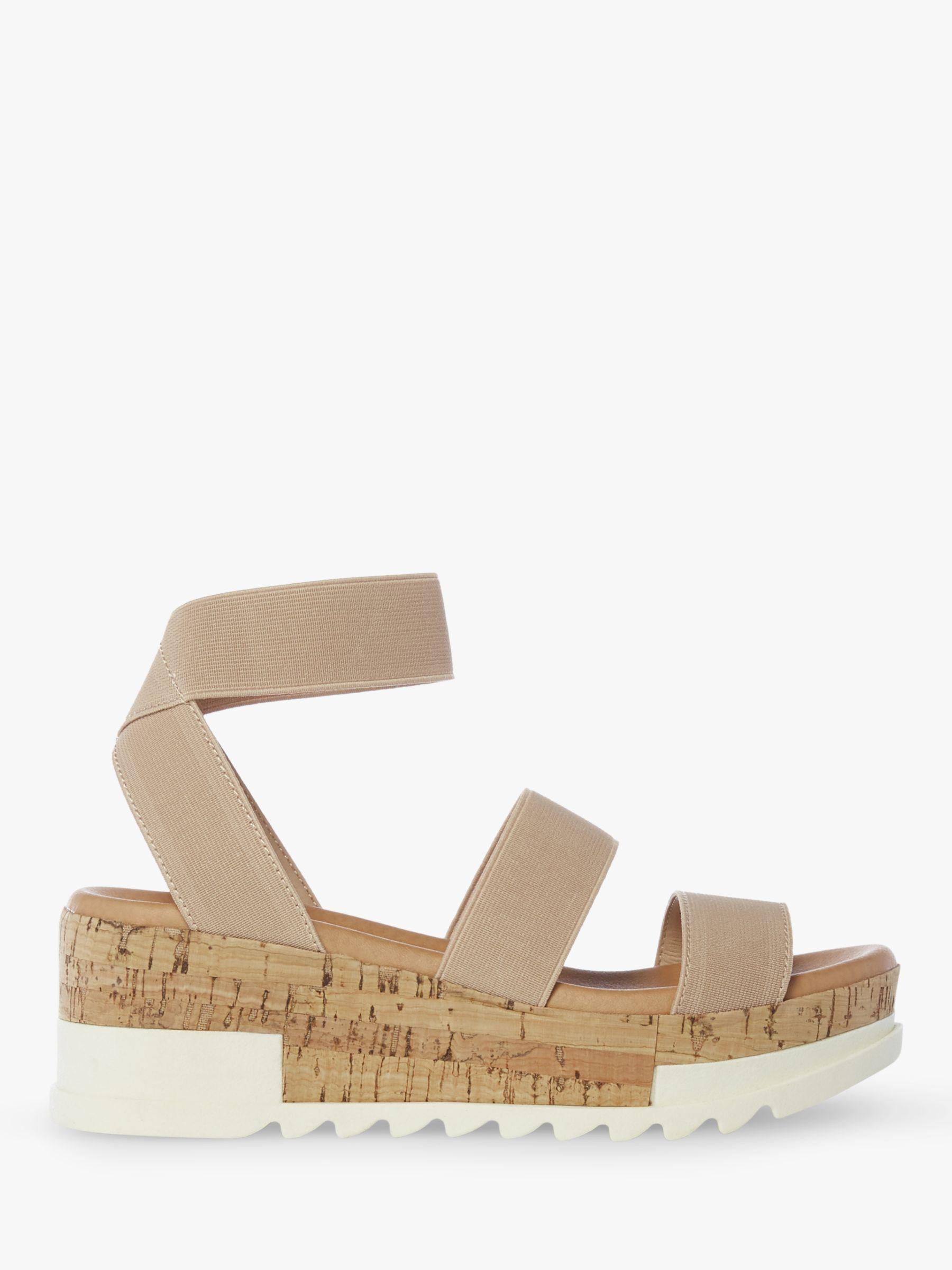 19cd2415f017 Steve Madden. Women s Natural Bandi Flatform Sandals. £80 From John Lewis  and Partners