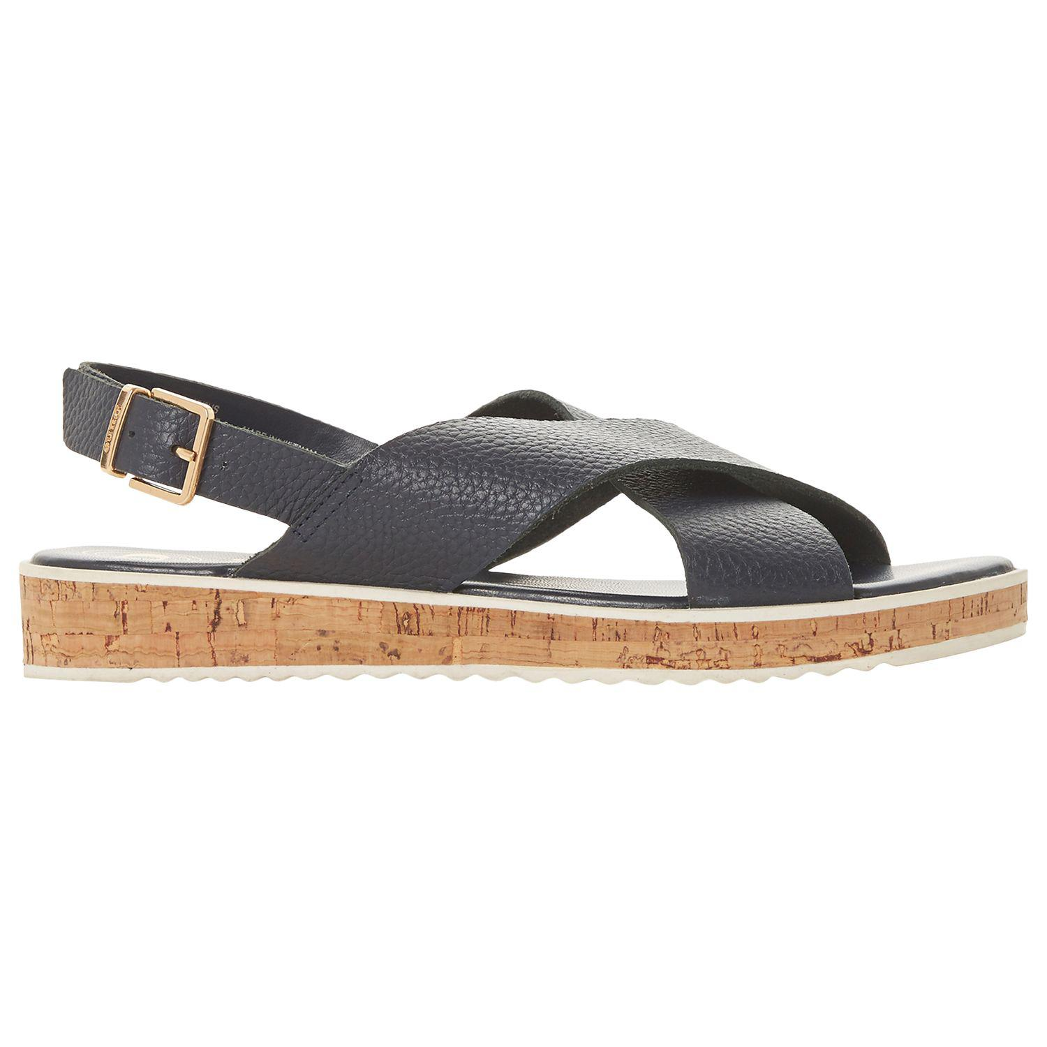 2512d711c56e Dune. Women s Blue Lorde Cross Strap Sandals. £48 From John Lewis and  Partners