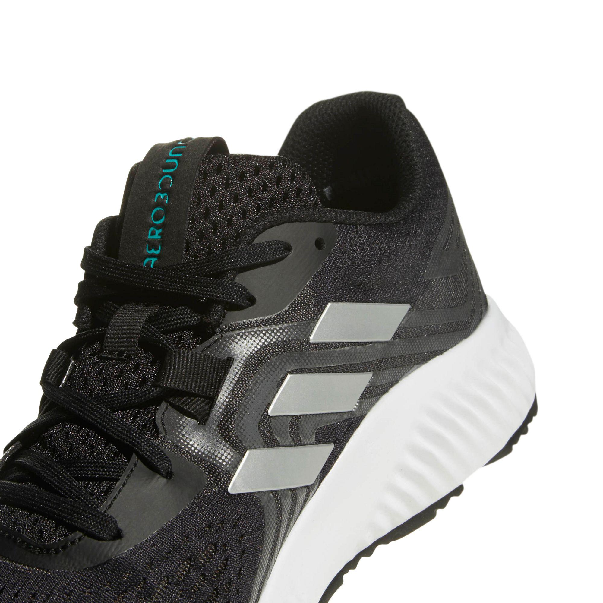 new style d4a66 89f58 adidas Aerobounce 2 Mens Running Shoes in Black for Men - Ly